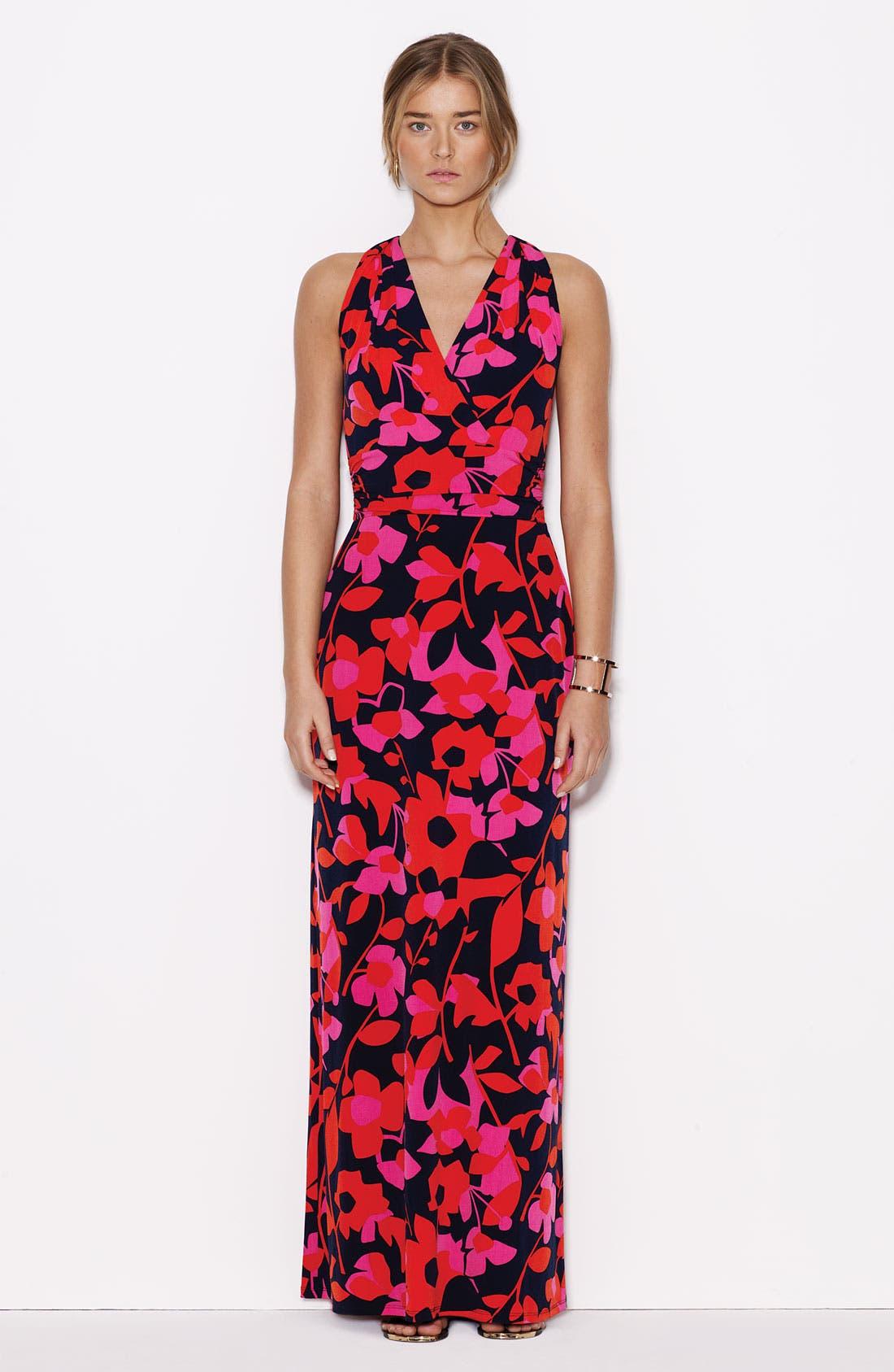 Alternate Image 4  - Vince Camuto 'Island Cutout' Print Maxi Dress