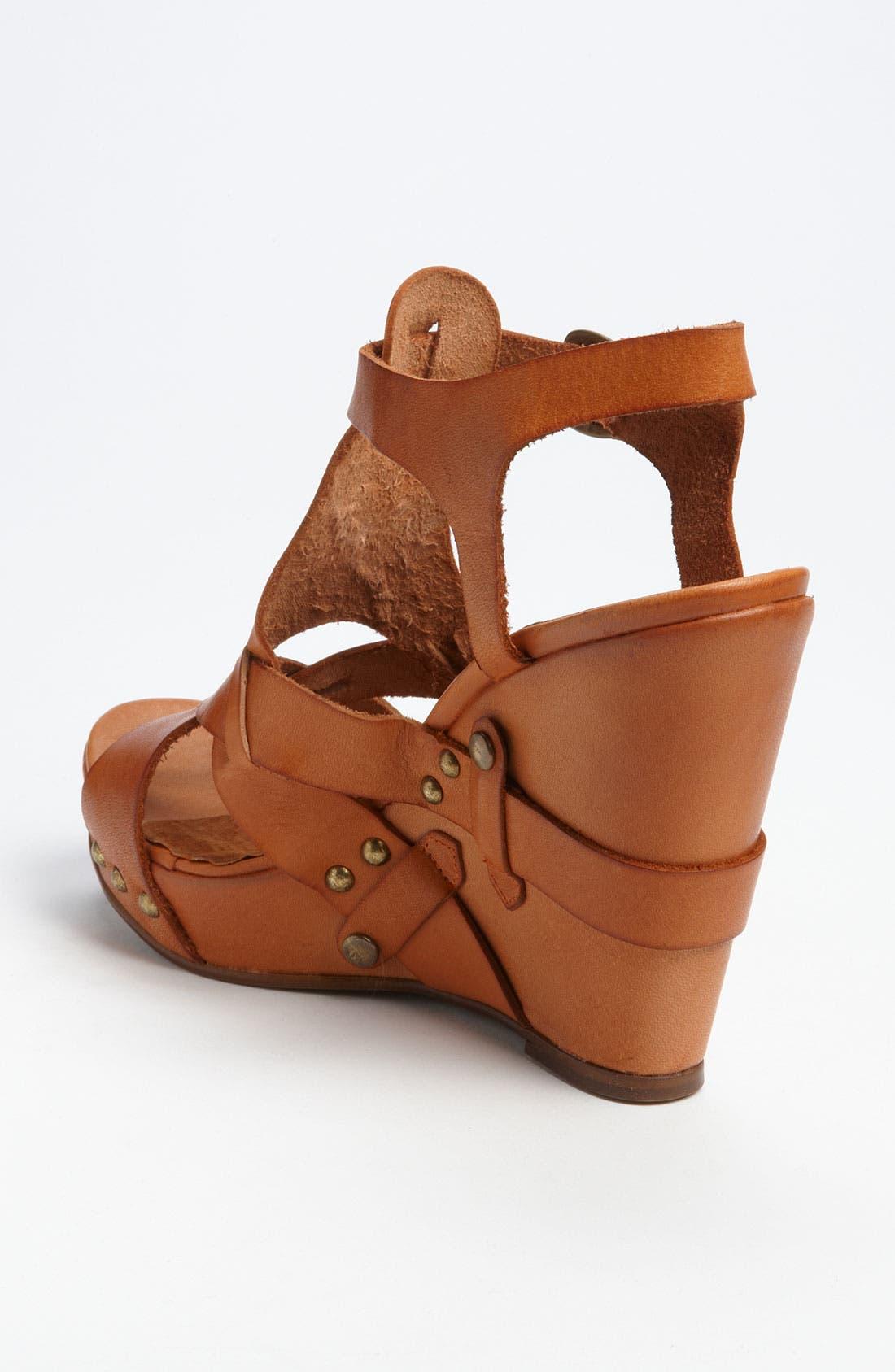 Alternate Image 2  - SIXTYSEVEN '72019' T-Strap Wedge Sandal