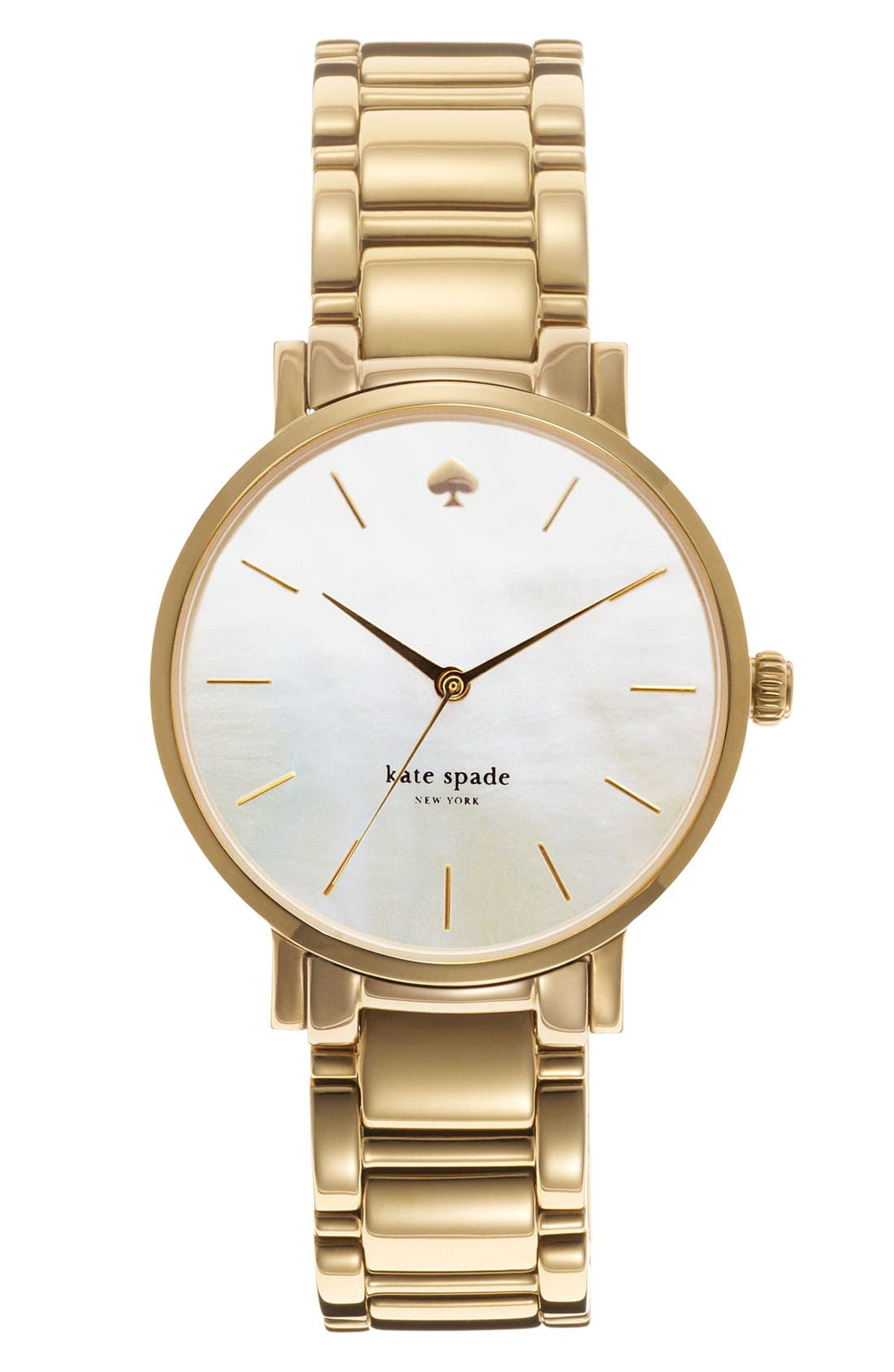 Alternate Image 1 Selected - kate spade new york 'gramercy' bracelet watch, 34mm