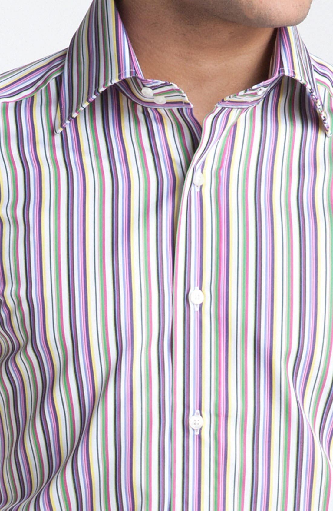 Alternate Image 3  - Etro Stripe Woven Dress Shirt