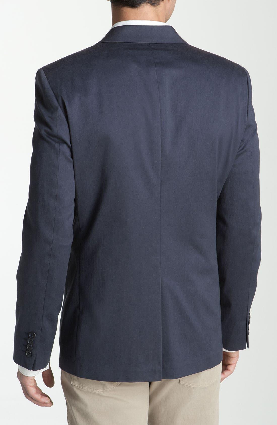 Alternate Image 2  - Calibrate Trim Fit Cotton Sportcoat