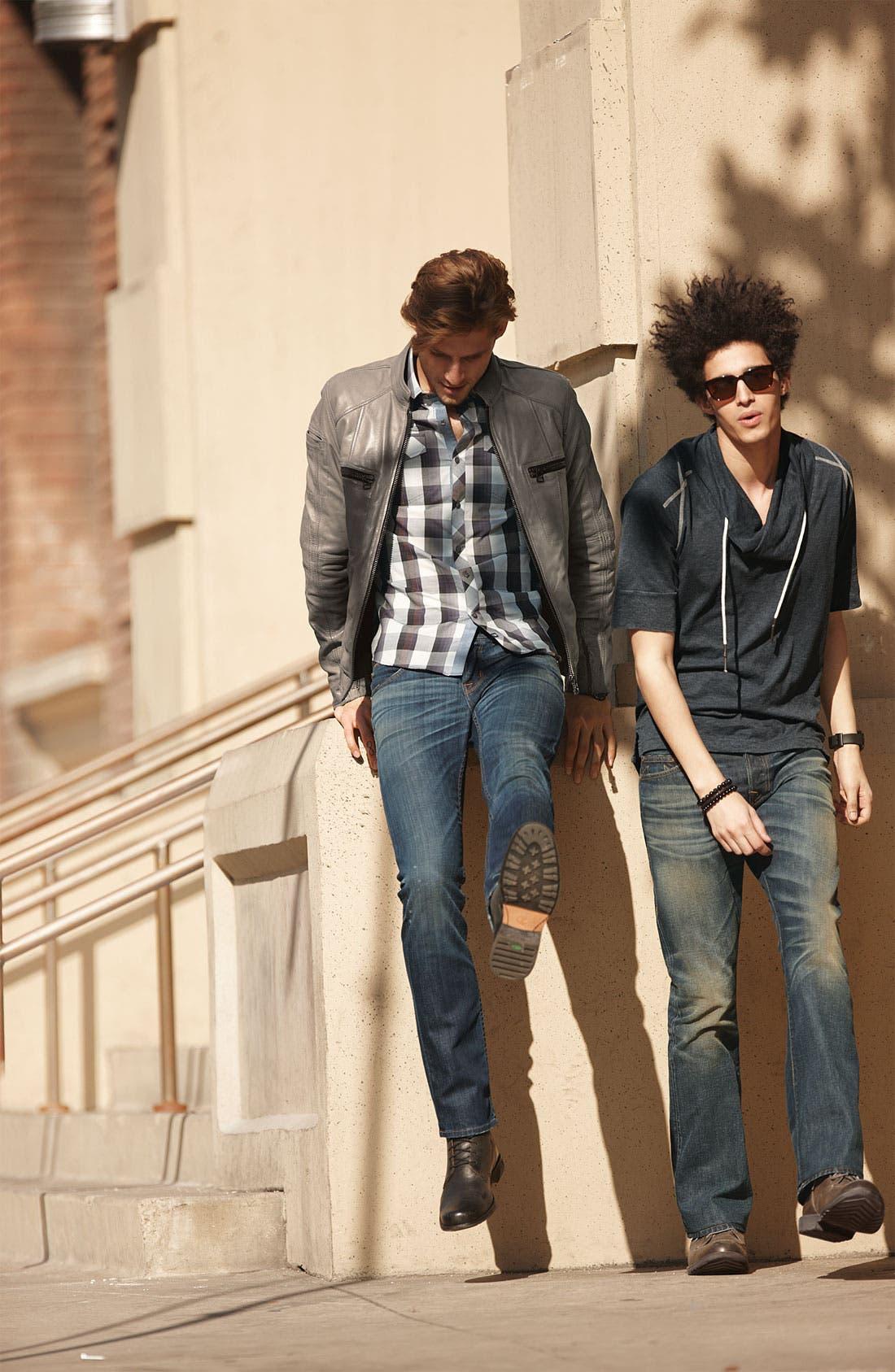 Alternate Image 4  - True Religion Brand Jeans 'Danny Phoenix' Bootcut Jeans (Blue Grass)
