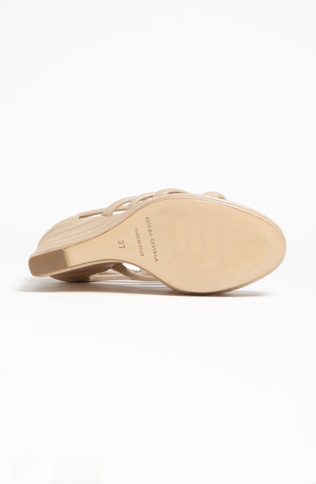 Alternate Image 4  - Bionda Castana Zip Sandal