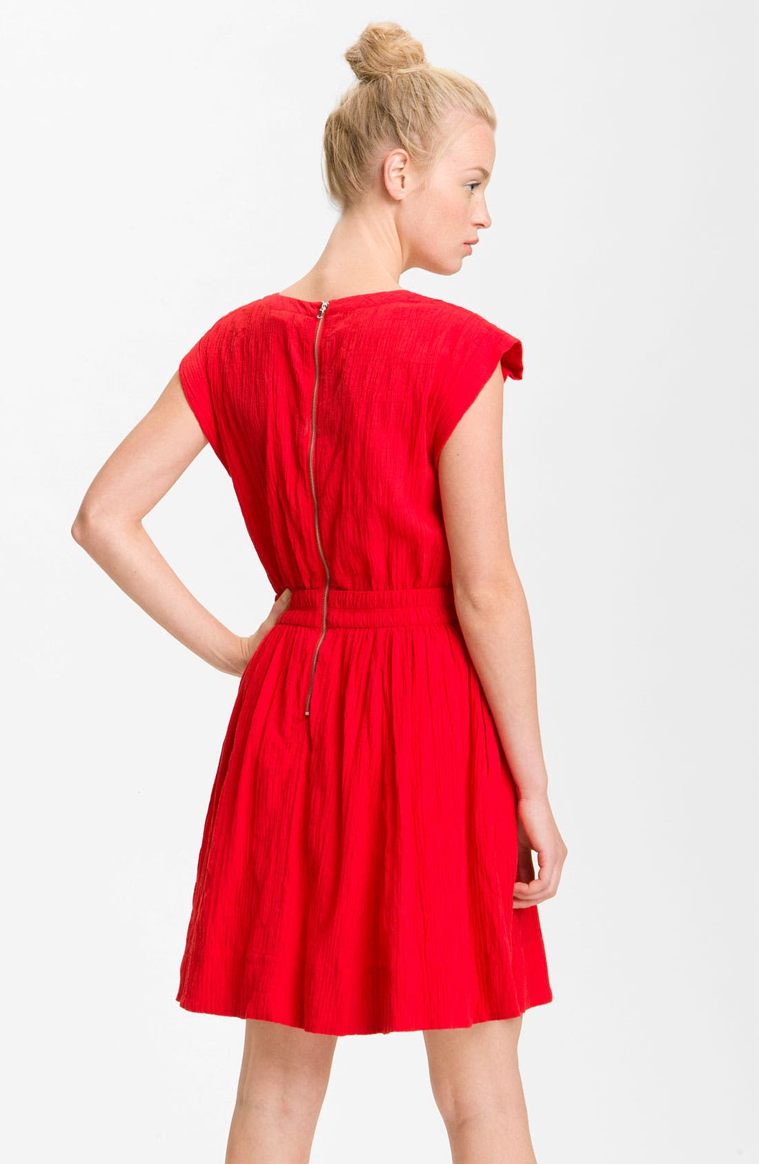Alternate Image 2  - MARC BY MARC JACOBS 'Aliyah' Crinkle Cotton Dress