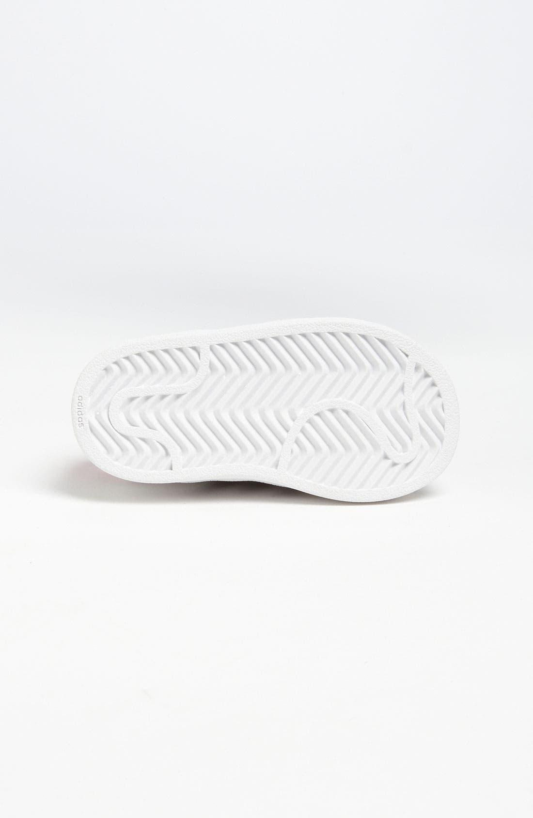 Alternate Image 4  - adidas 'Sparkle Superstar 2' Sneaker (Baby, Walker & Toddler)
