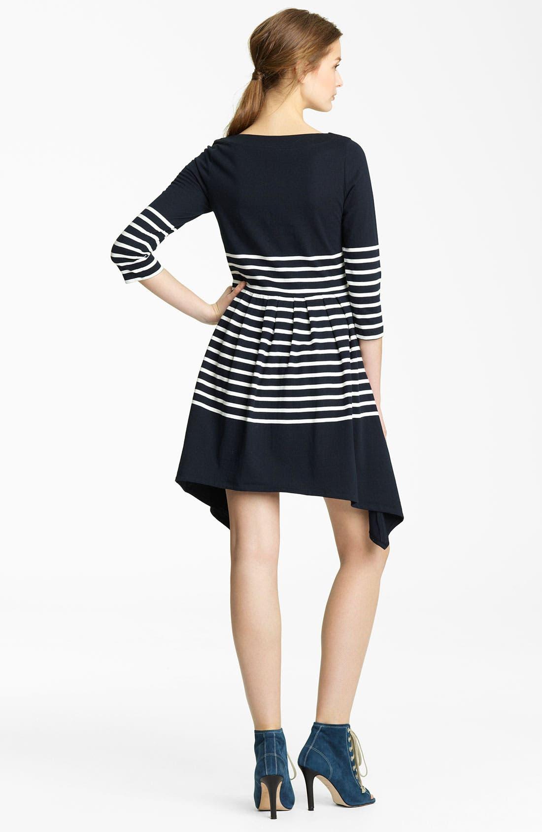 Alternate Image 2  - Band of Outsiders Stripe Jersey Dress