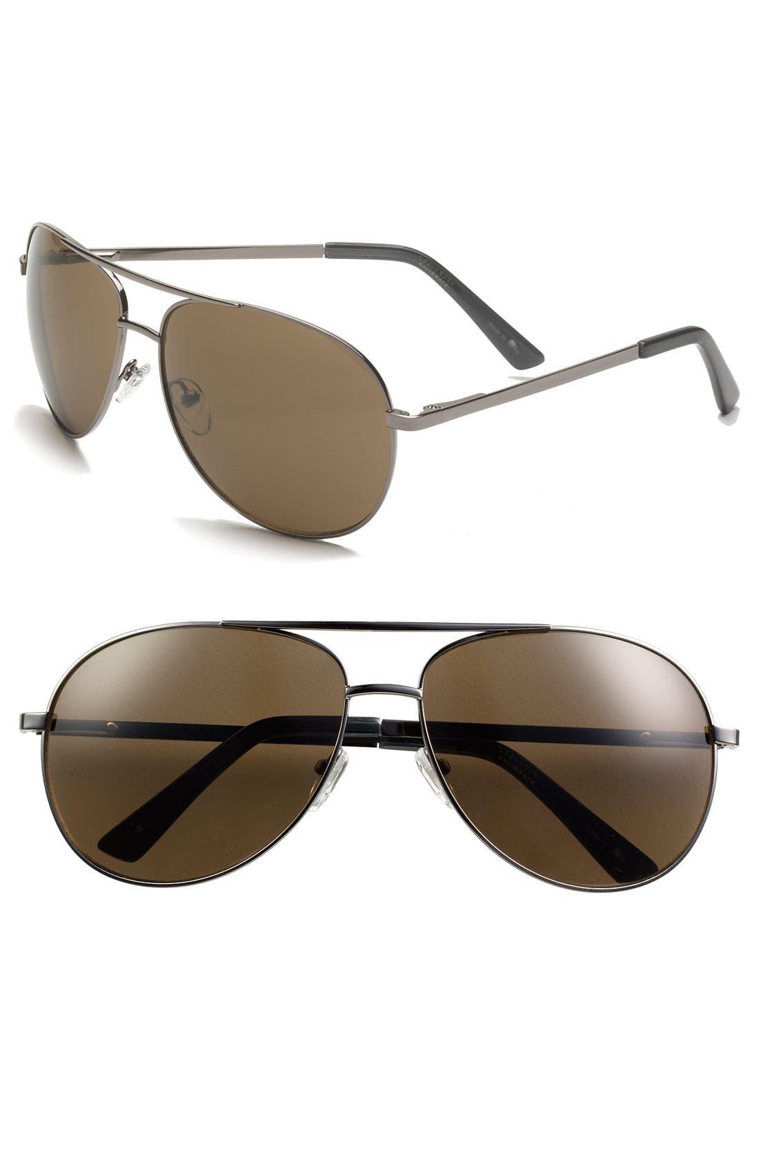 Main Image - Calibrate Aviator Sunglasses