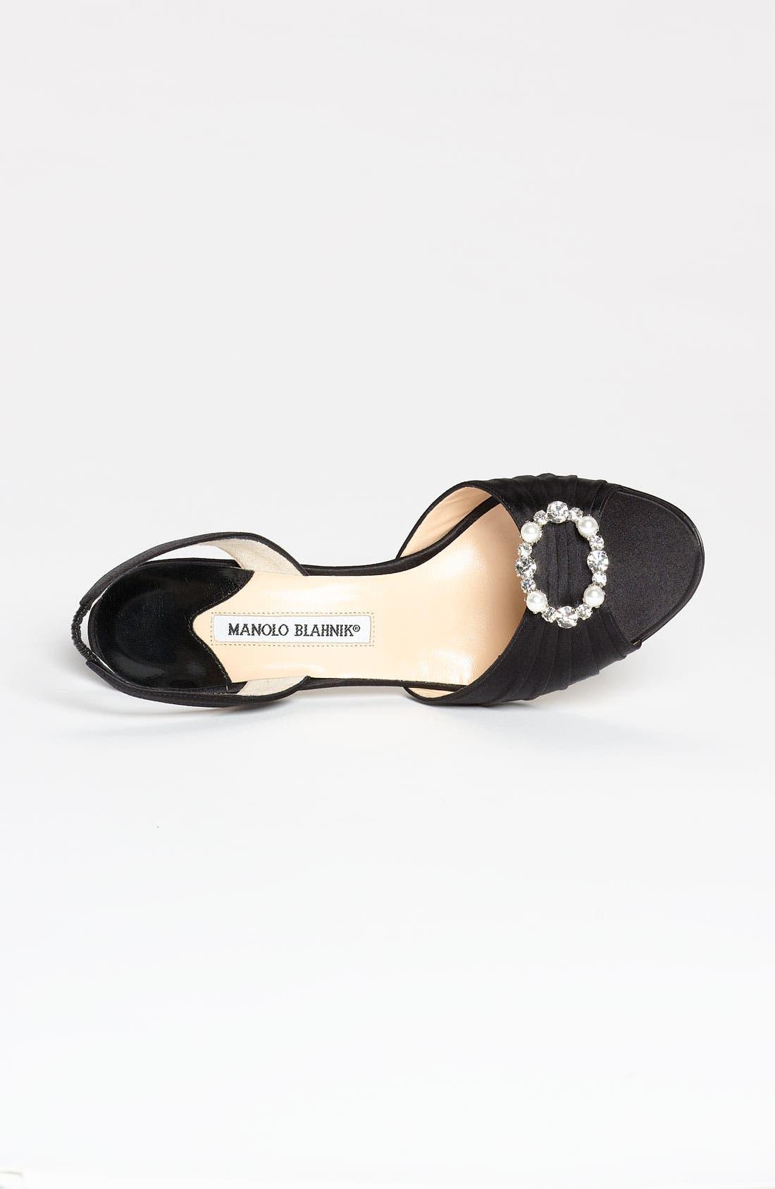 Alternate Image 3  - Manolo Blahnik 'Sedaraby' Embellished Slingback Sandal