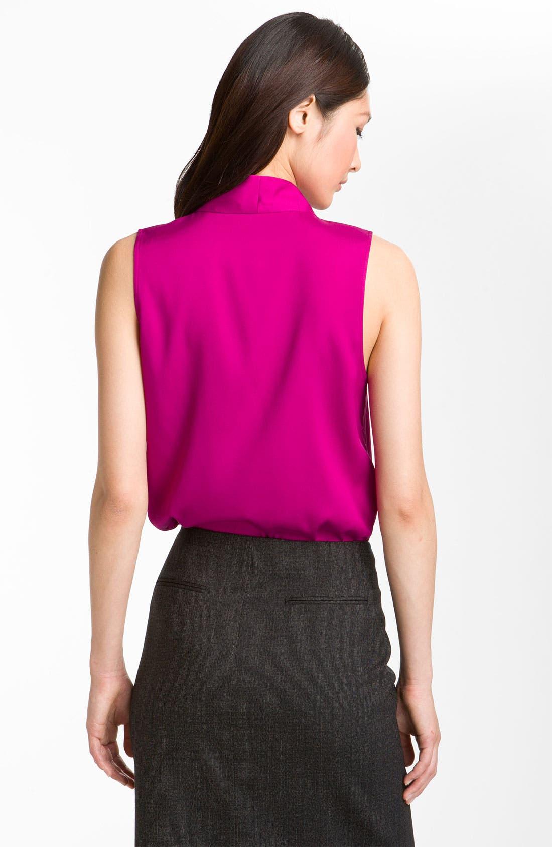 Alternate Image 2  - Theory 'Moha - Elegance' Silk Top