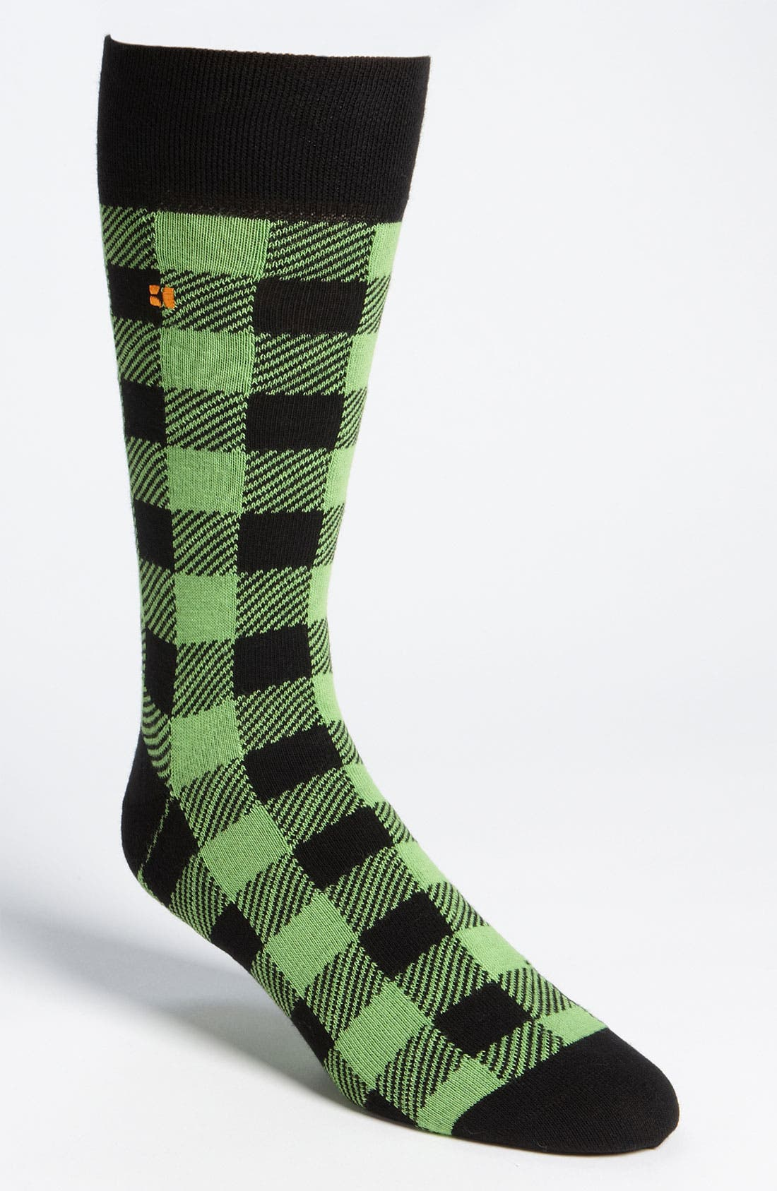 Alternate Image 1 Selected - BOSS Orange Two Tone Socks