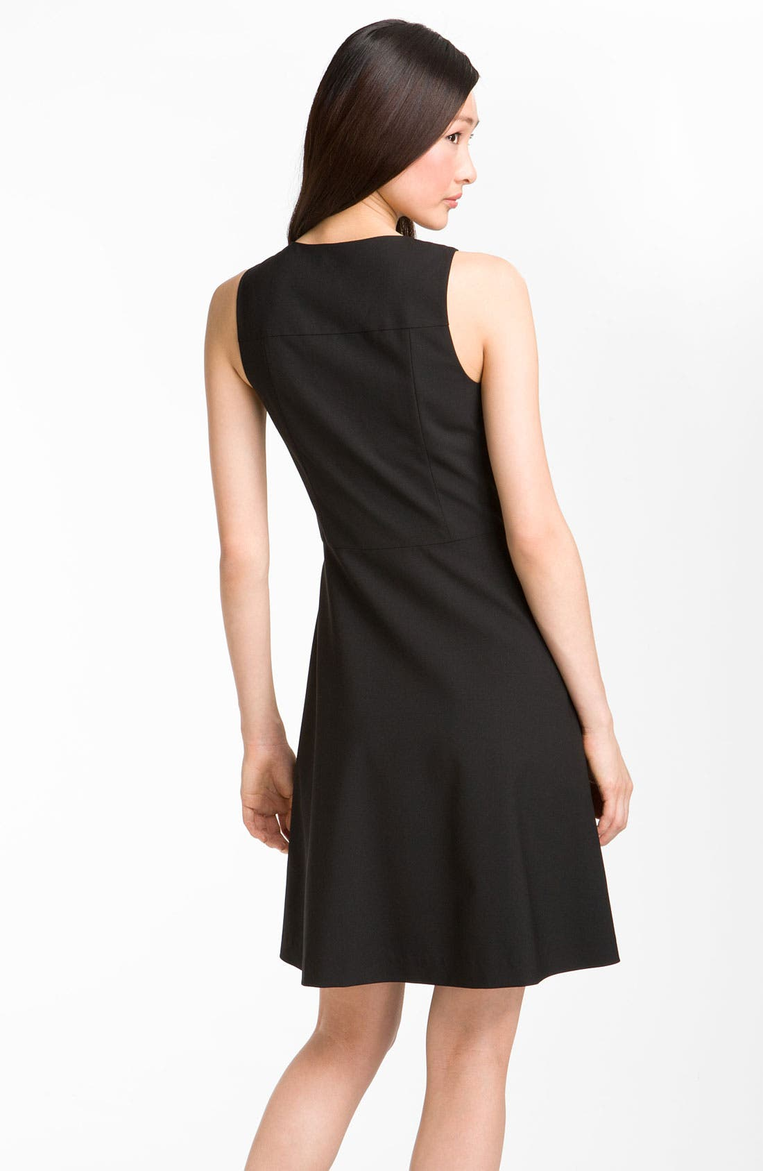 Alternate Image 2  - Theory 'Etiara - Tailor' V-Neck Dress