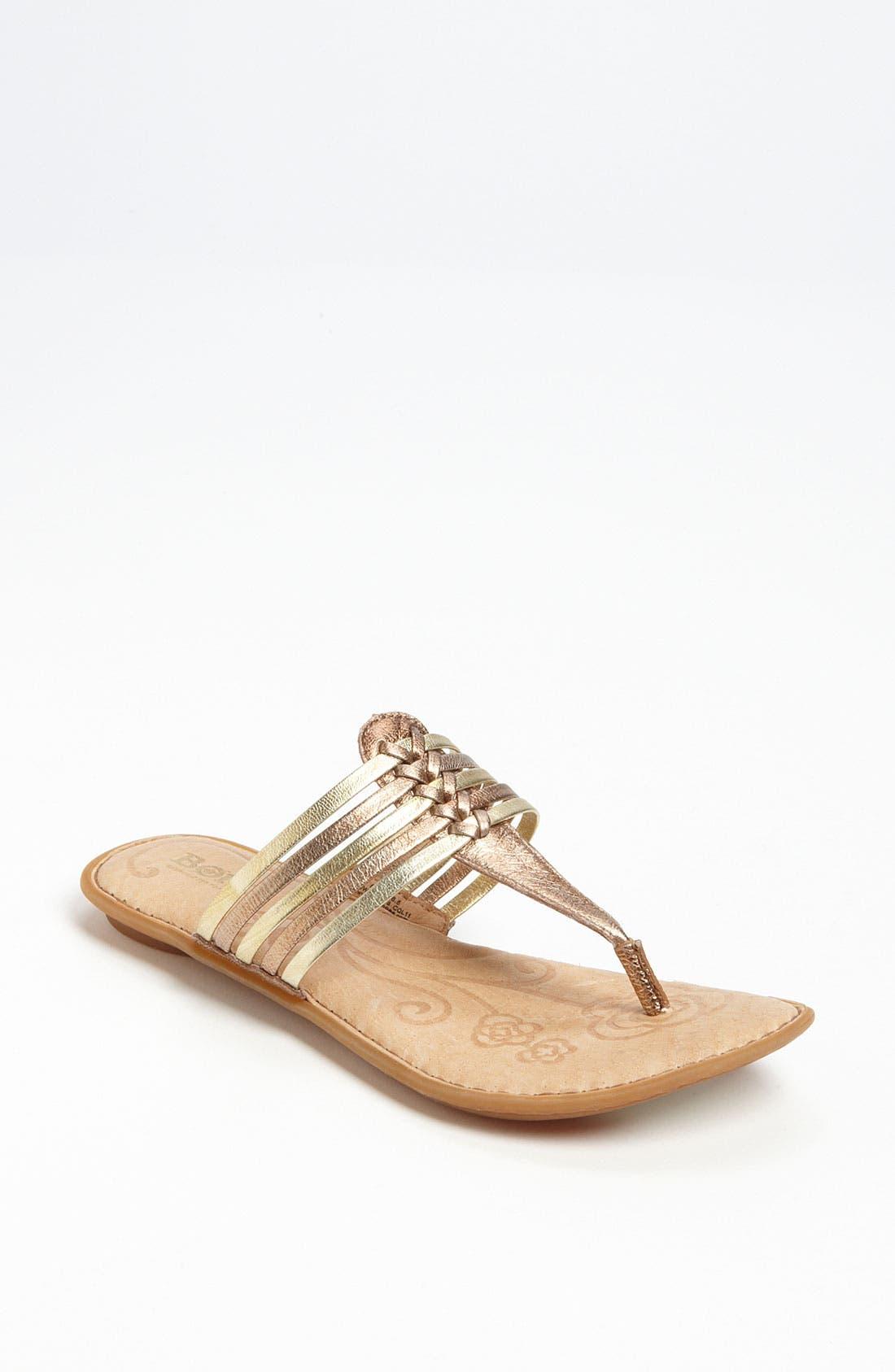 Alternate Image 1 Selected - Børn 'Hoda' Sandal
