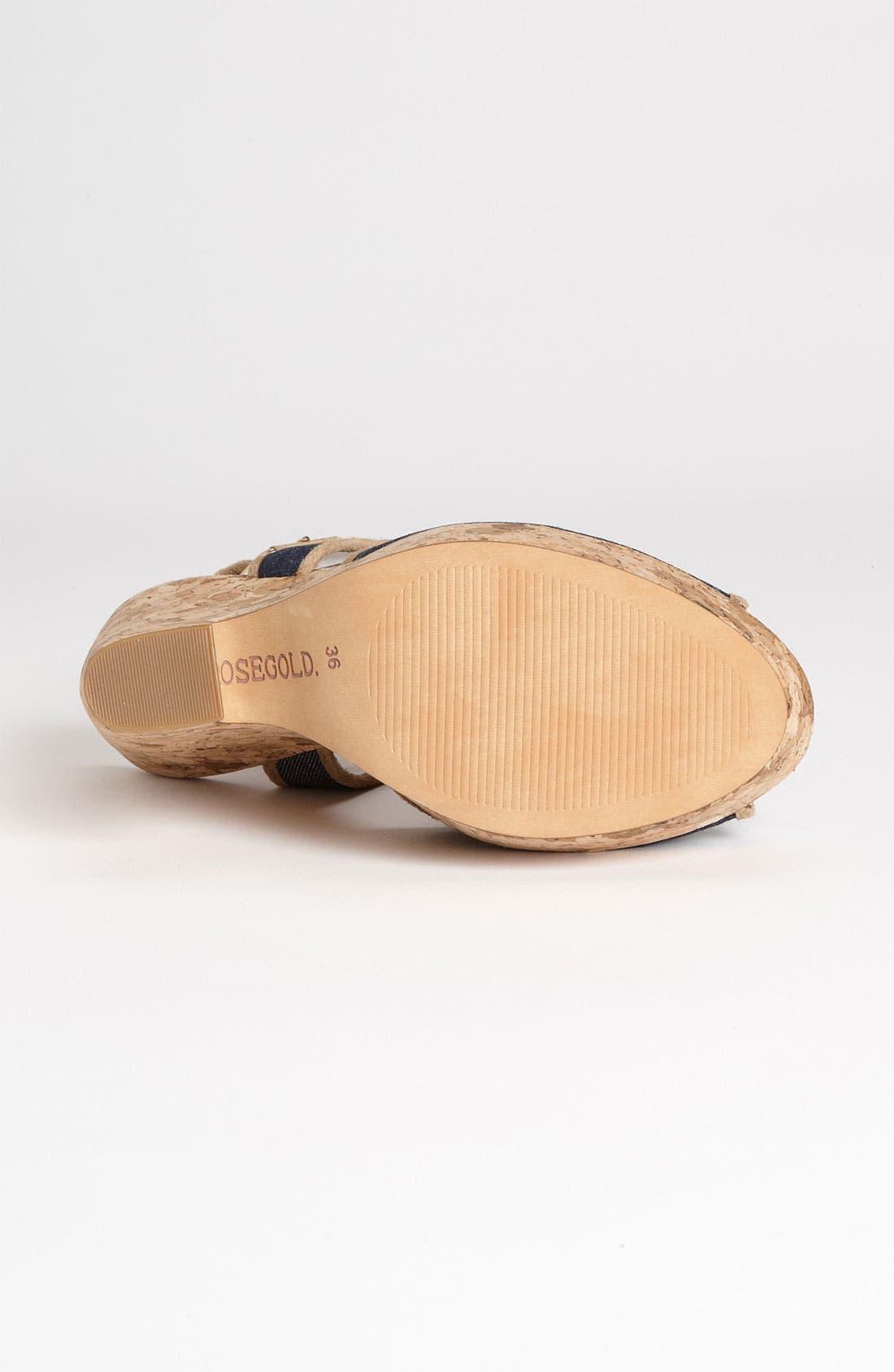 Alternate Image 4  - Rosegold 'Lara' Sandal