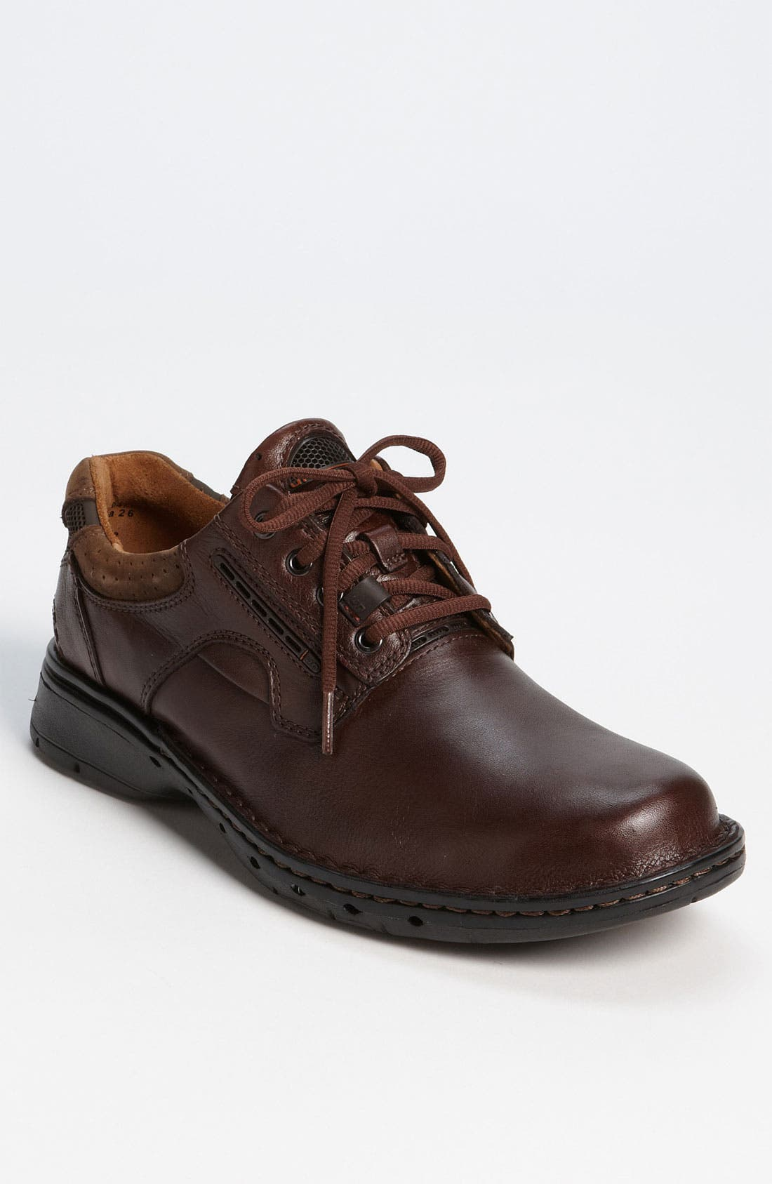 'Un Ravel' Oxford (Online Only),                             Main thumbnail 1, color,                             Brown Leather