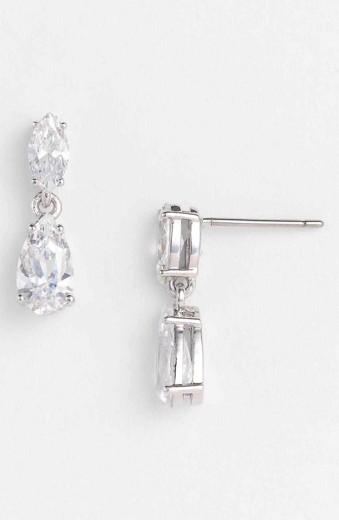 Alternate Image 1 Selected - Nadri Cubic Zirconia Earrings (Nordstrom Exclusive)