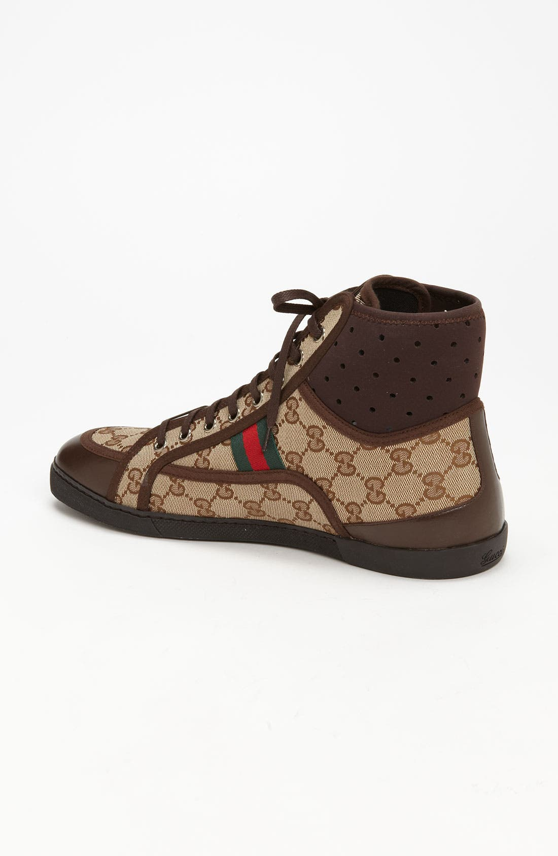 Alternate Image 2  - Gucci 'Cannes' High Top Sneaker