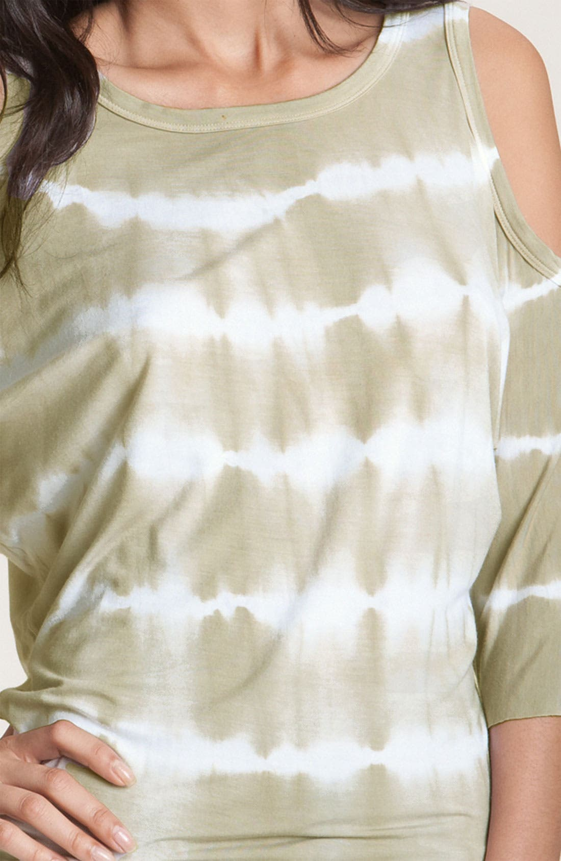 Alternate Image 3  - Bailey 44 'Wildebeest' Cutout Shoulder Tie Dye Dolman Top