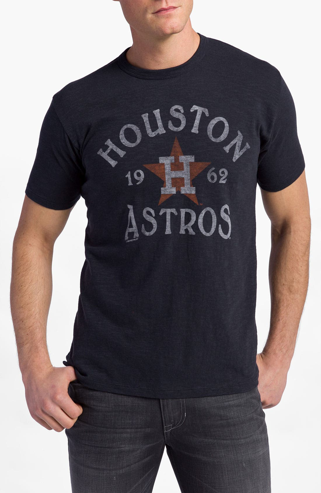 Alternate Image 1 Selected - '47 'Houston Astros' Regular Fit Crewneck T-Shirt