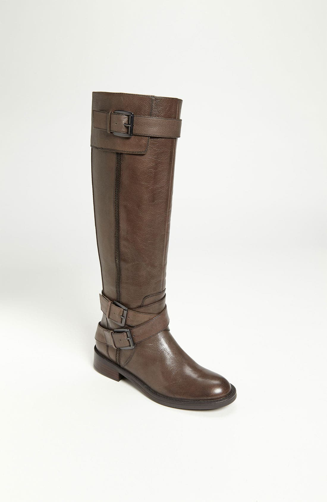 'Saylem' Riding Boot,                         Main,                         color, Dark Grey Leather