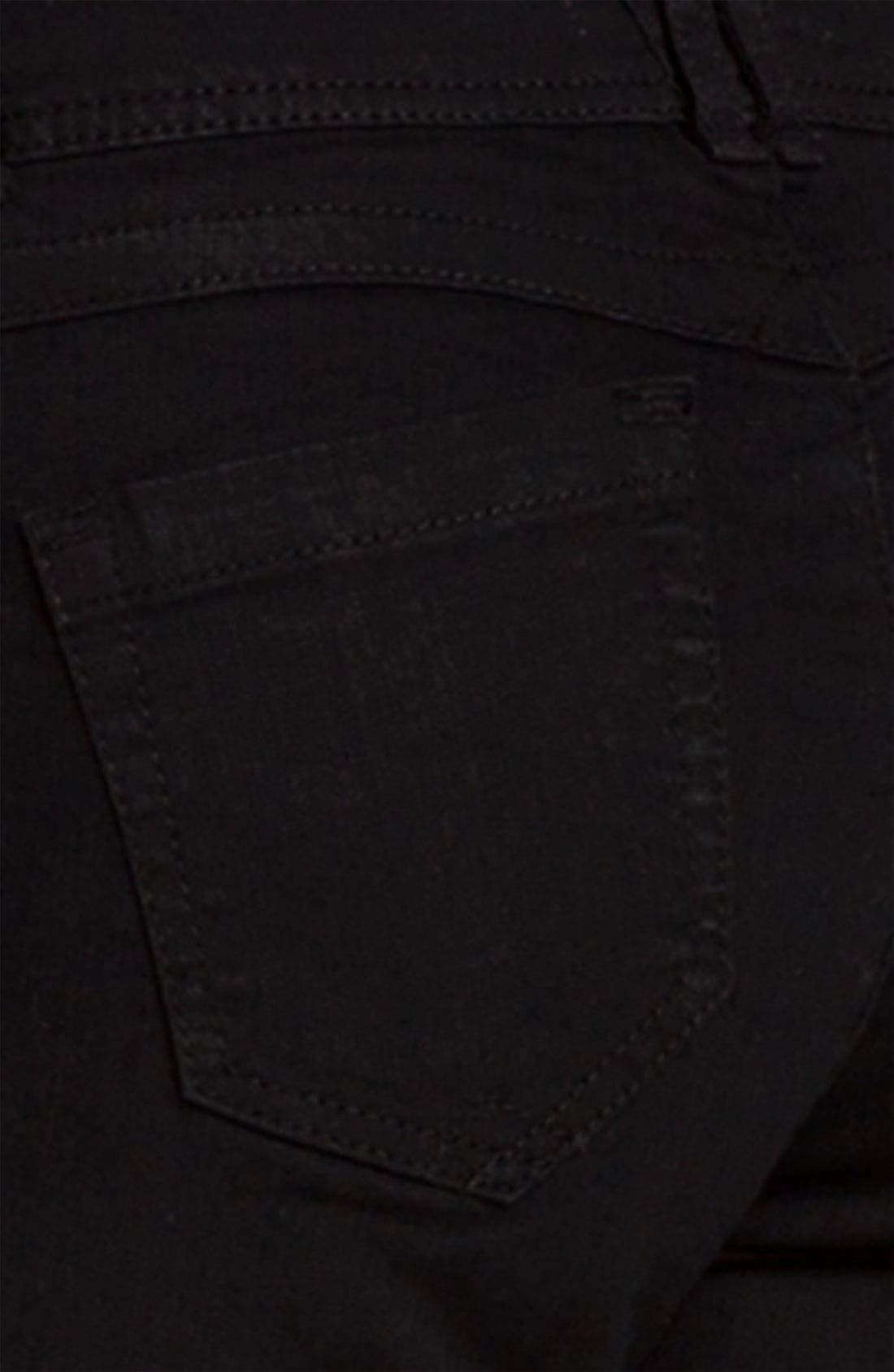 Alternate Image 3  - Wit & Wisdom Denim Leggings (Black Wash) (Nordstrom Exclusive)