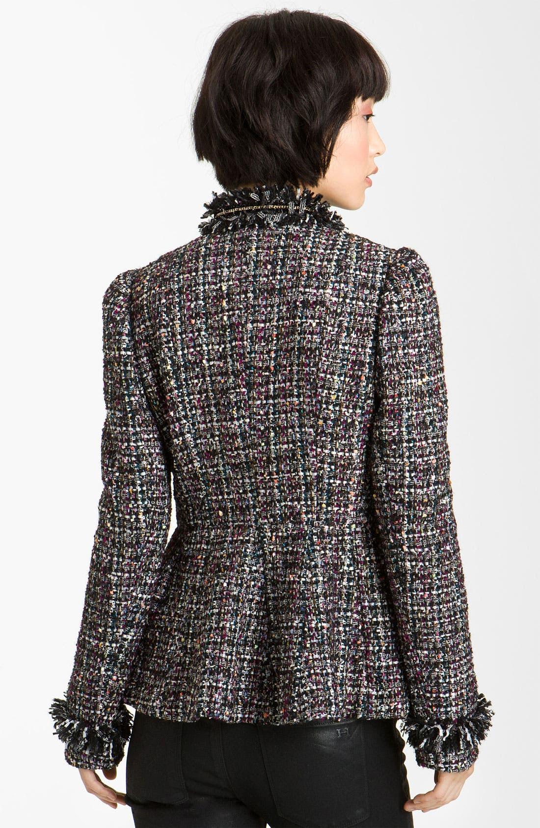 Alternate Image 2  - Mcginn Asymmetrical Metallic Tweed Jacket