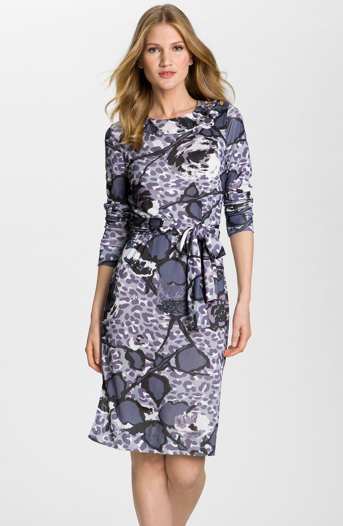 Alternate Image 1 Selected - Tory Burch 'Cory' Silk Dress