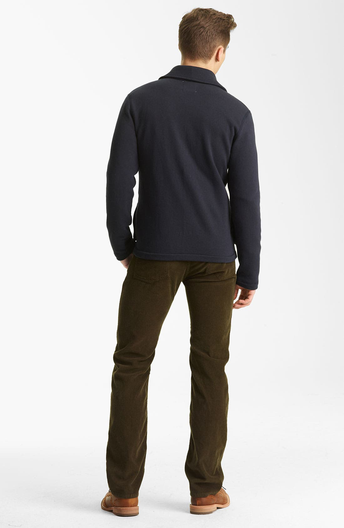 Alternate Image 4  - Billy Reid 'Watson' Shawl Collar Cardigan
