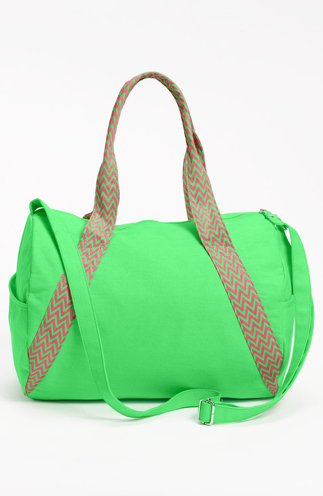 Alternate Image 2  - Lulu Neon Barrel Duffel Bag