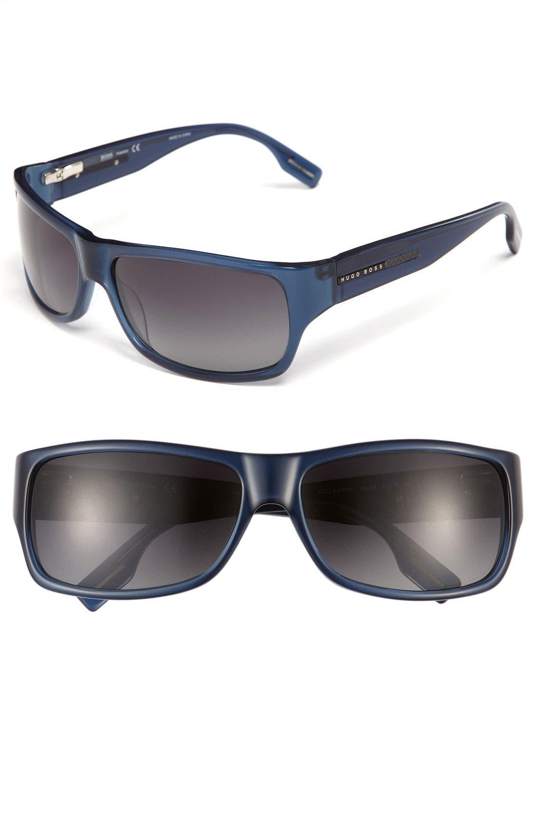 Alternate Image 1 Selected - BOSS Black Polarized 63mm Sunglasses