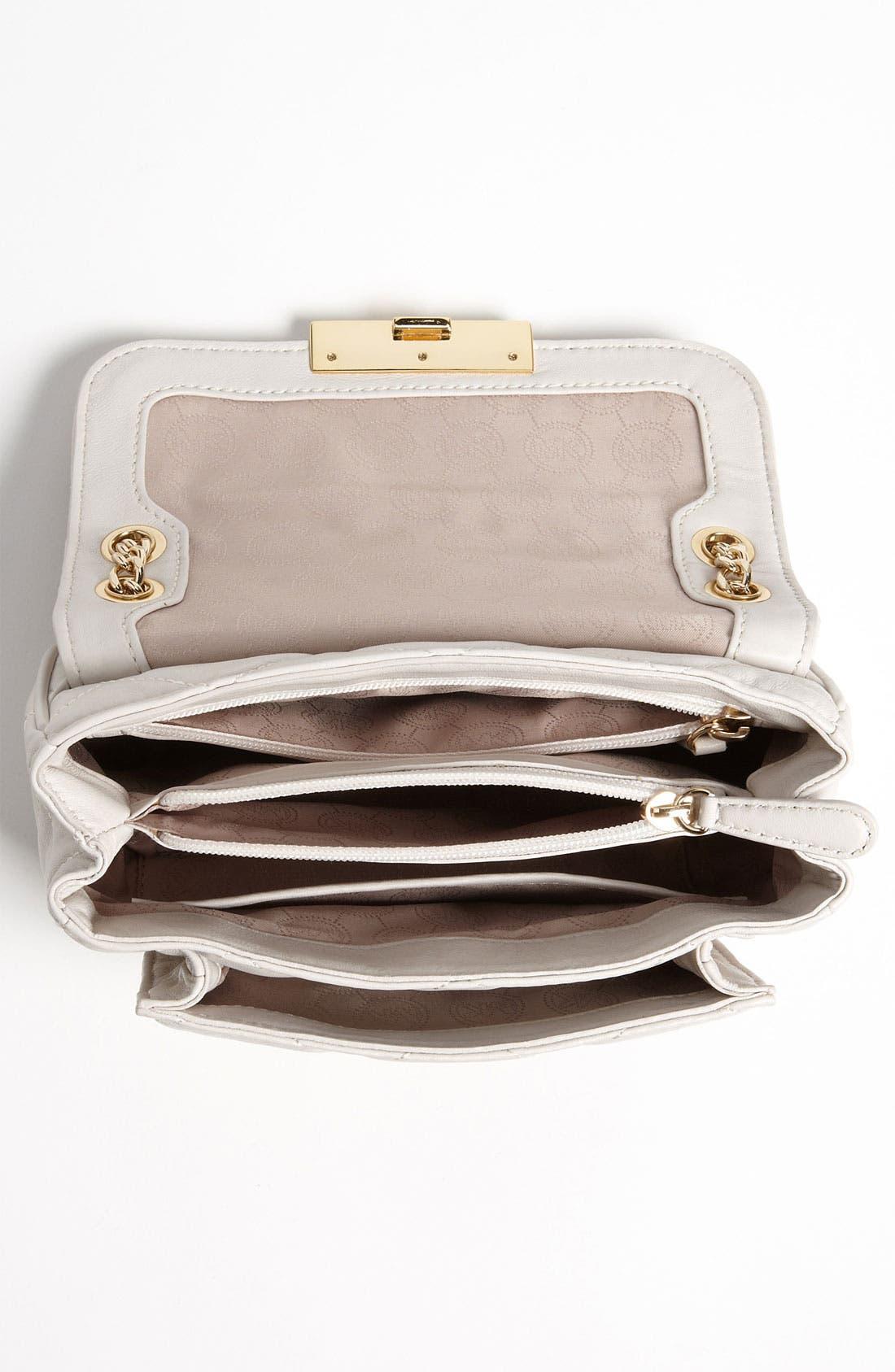 Alternate Image 3  - MICHAEL Michael Kors 'Sloan - Small' Quilted Shoulder Bag