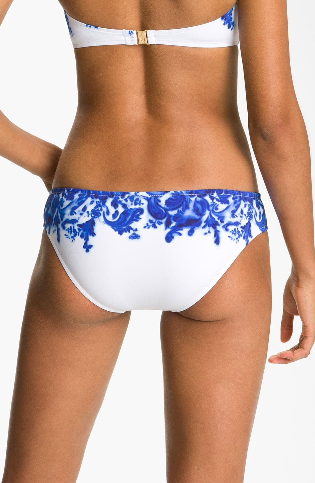 Alternate Image 2  - Ralph Lauren Blue Label Print Hipster Bikini Bottoms