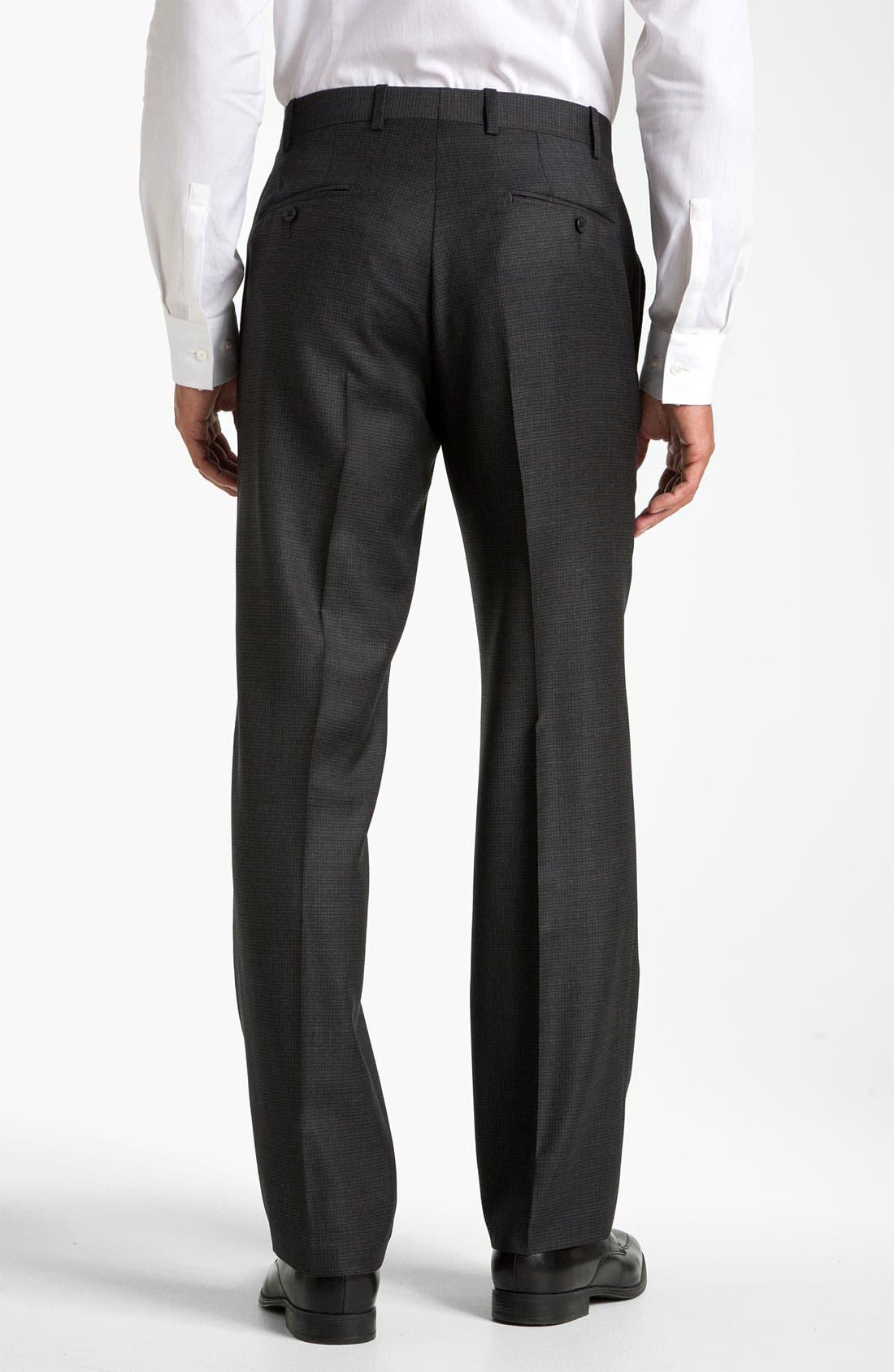 Alternate Image 2  - JB Britches Flat Front Trousers