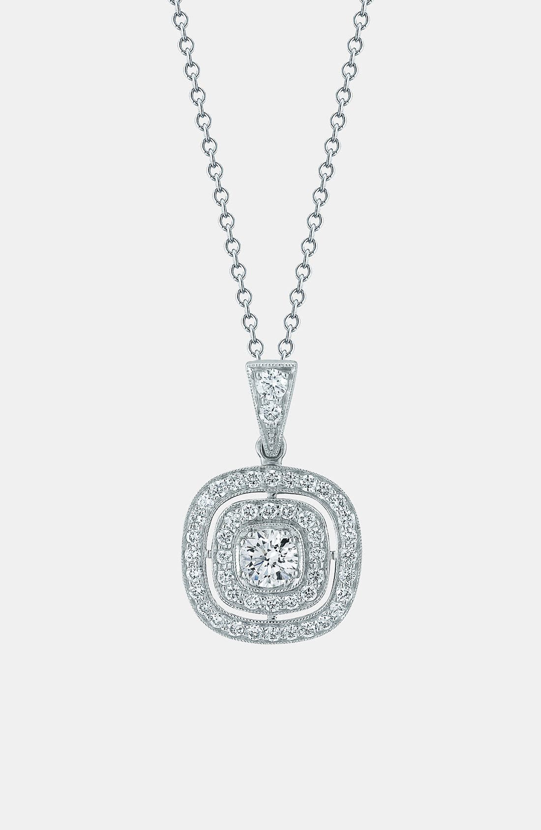 Main Image - Kwiat 'Silhouette' Diamond Pendant Necklace