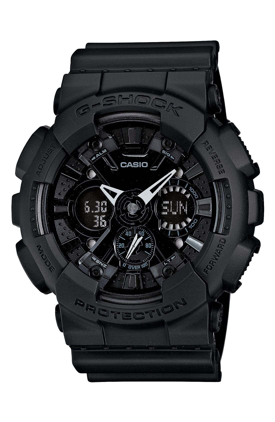 Alternate Image 1 Selected - G-Shock 'X-Large Ana-Digi' Watch, 55mm