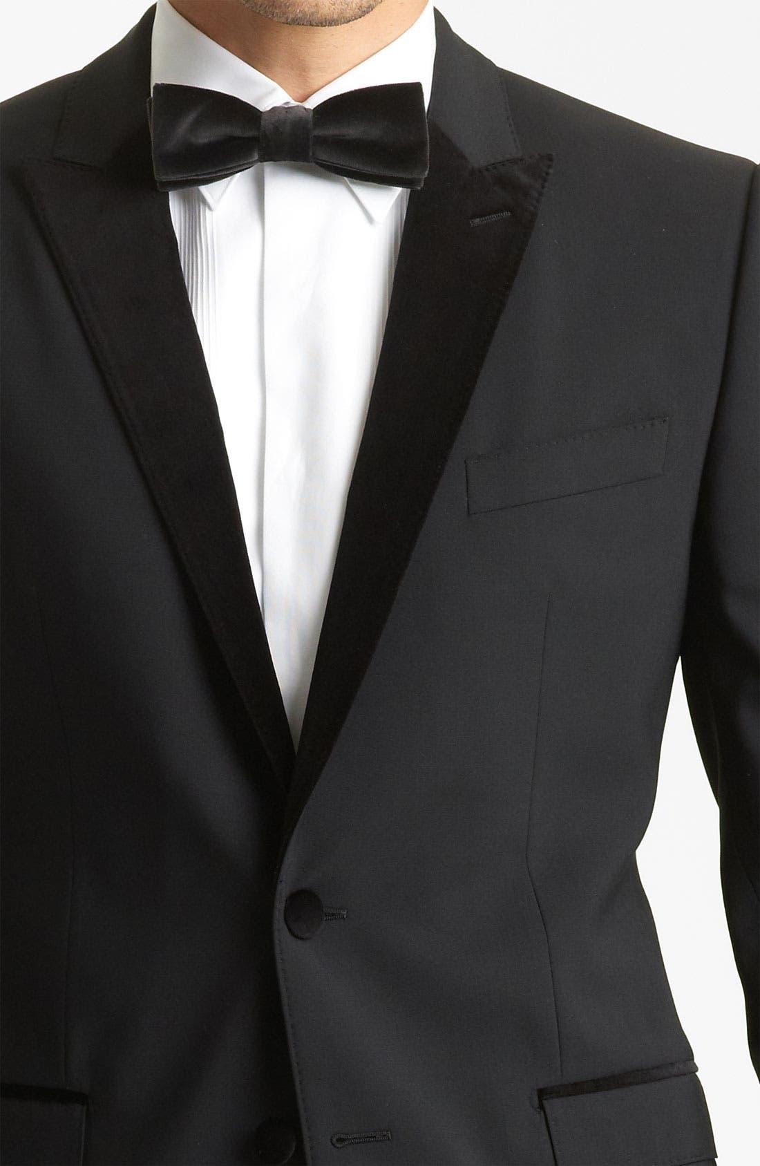 Alternate Image 5  - Dolce&Gabbana Velvet Trimmed Designer Tuxedo