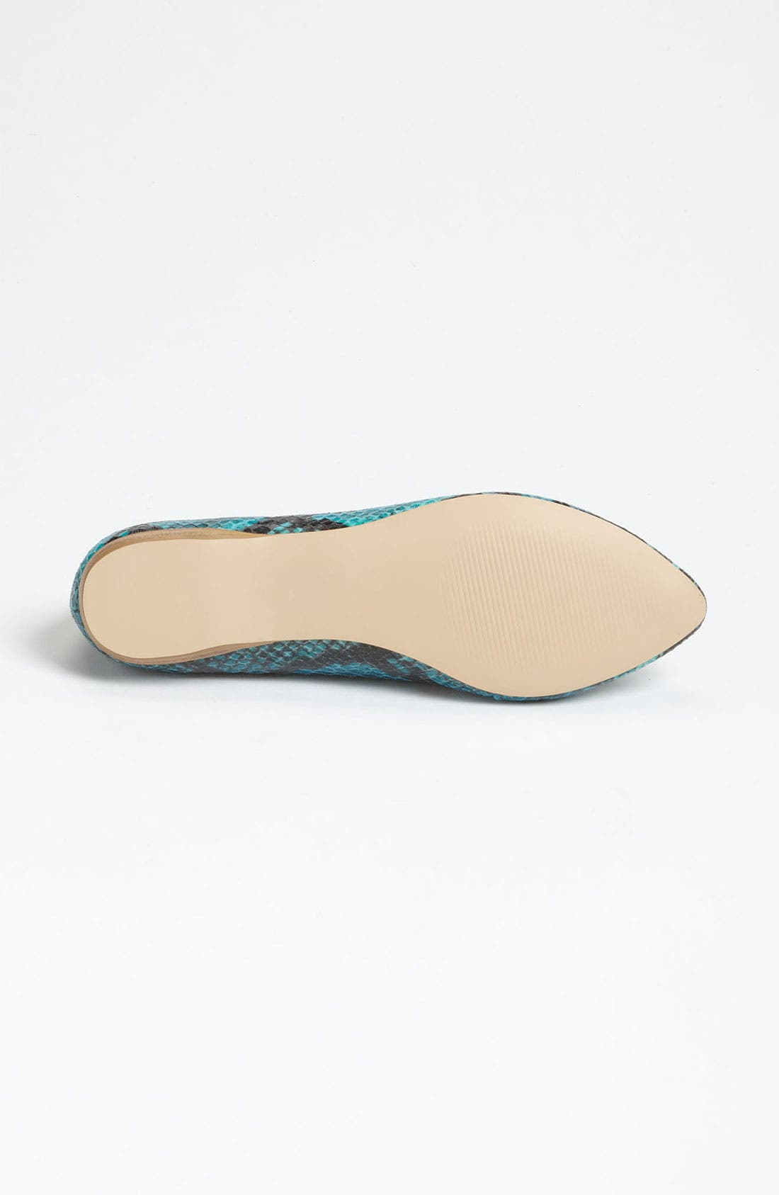 DV by Dolce Vita 'Lissa' Flat,                             Alternate thumbnail 4, color,                             Teal Snake