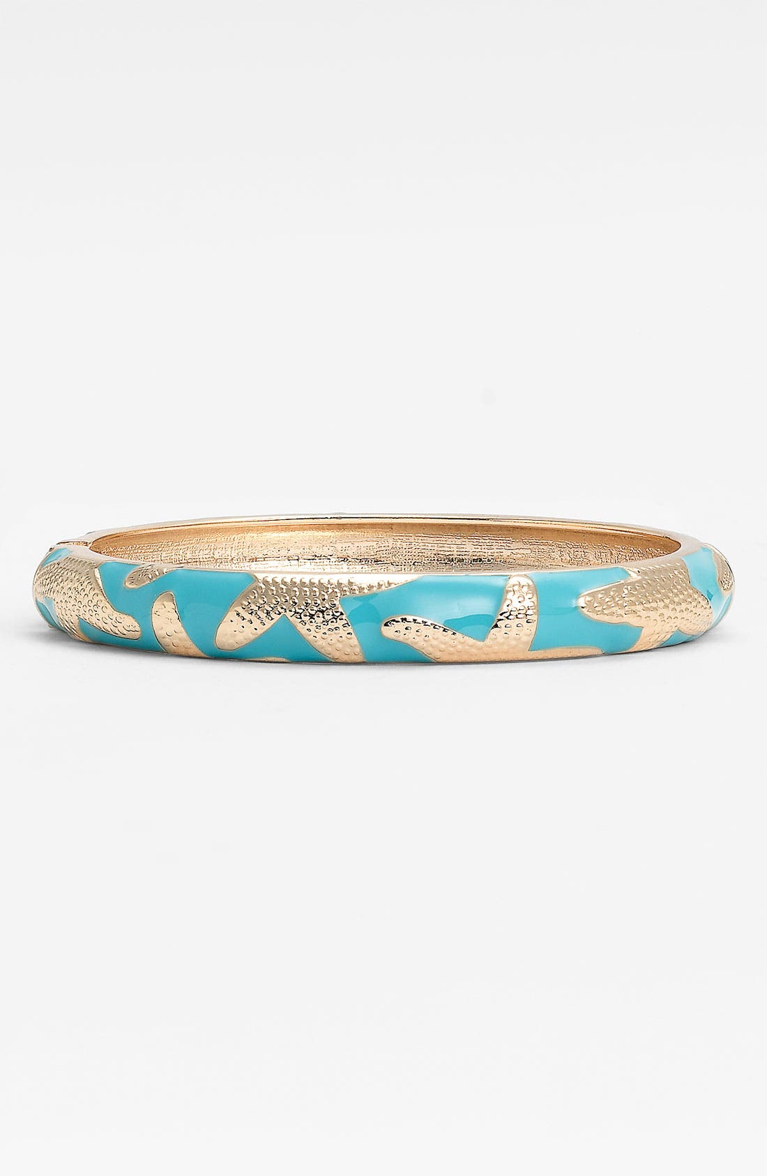 Alternate Image 1 Selected - Sequin Small Starfish Enamel Bangle