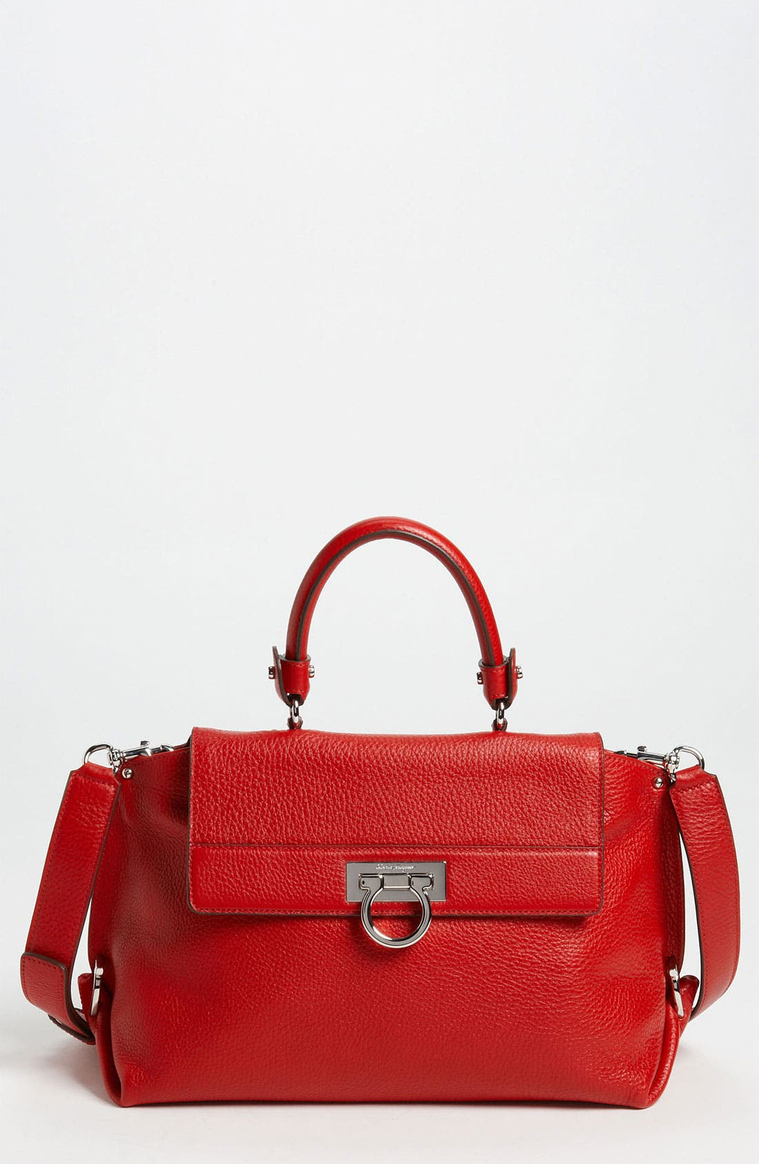 Alternate Image 1 Selected - Salvatore Ferragamo 'Mediterraneo Sofia' Satchel
