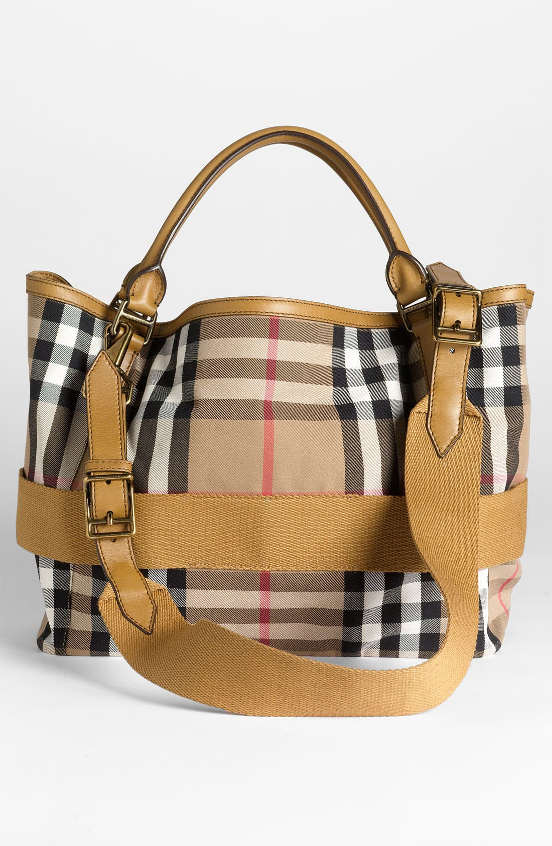 Alternate Image 4  - Burberry 'House Check' Fabric Tote