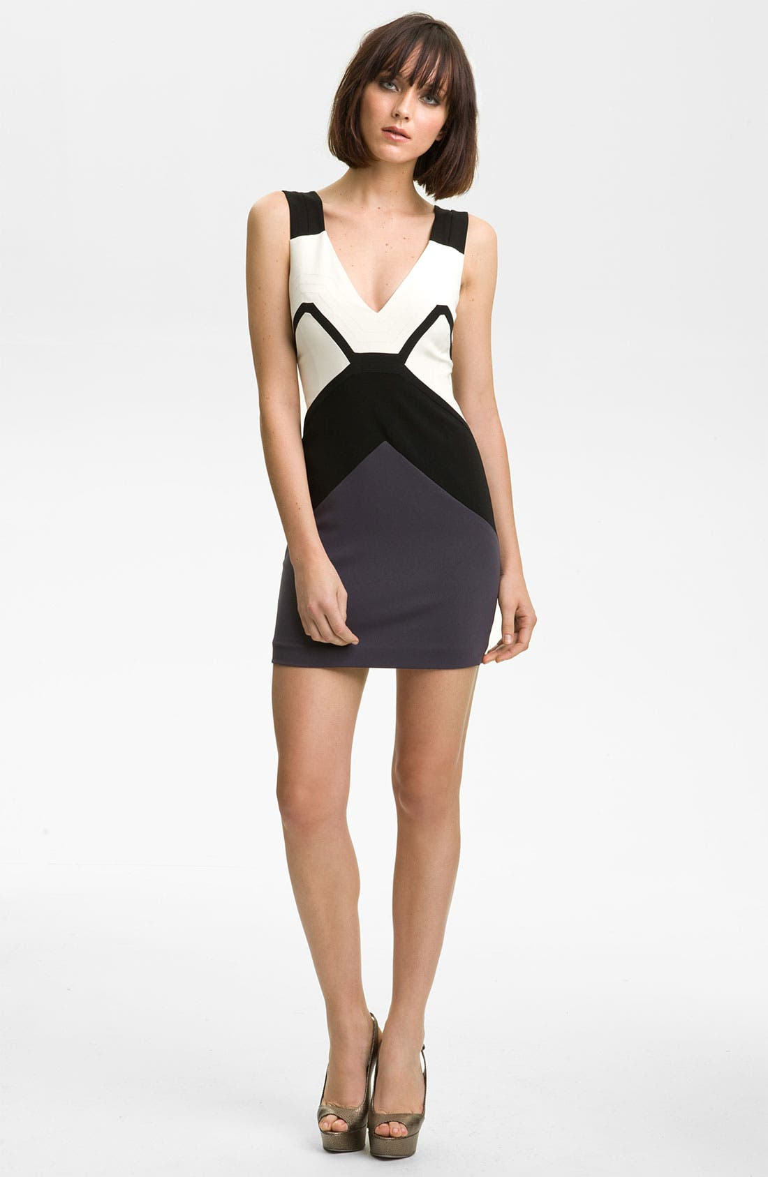 Main Image - Jay Godfrey 'Conacher' Colorblock Dress