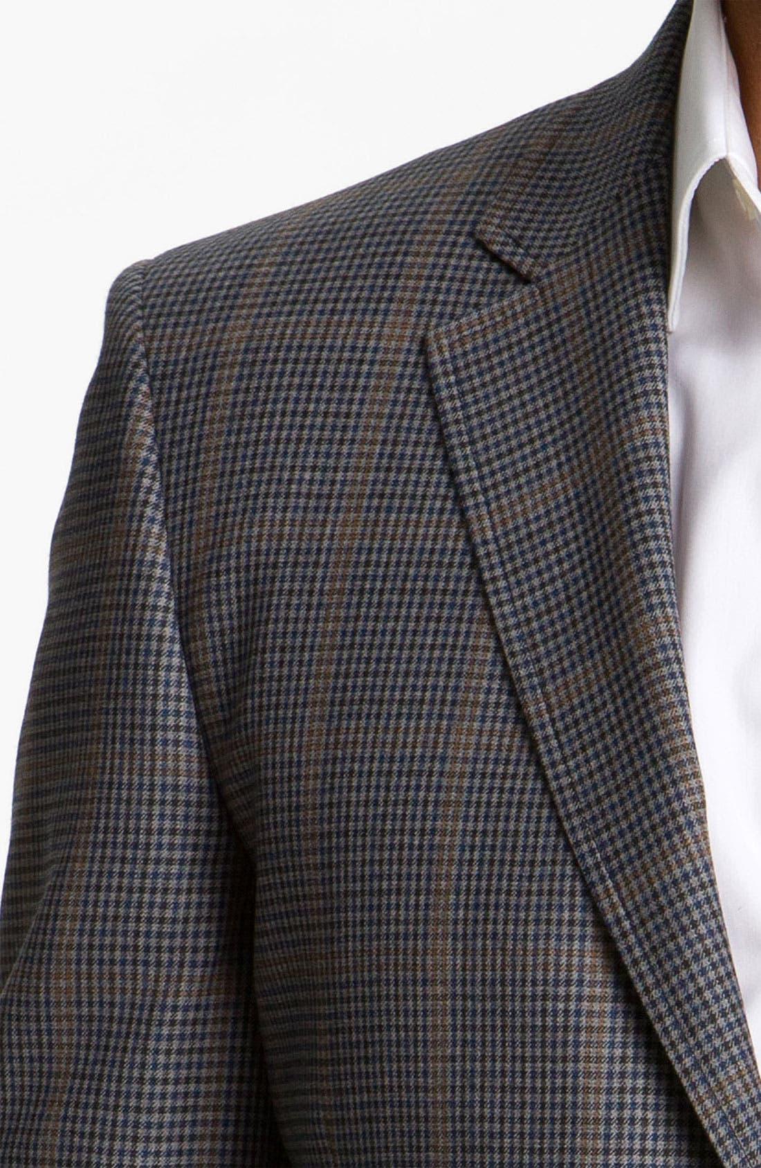 Alternate Image 3  - Di Milano Uomo Check Sportcoat