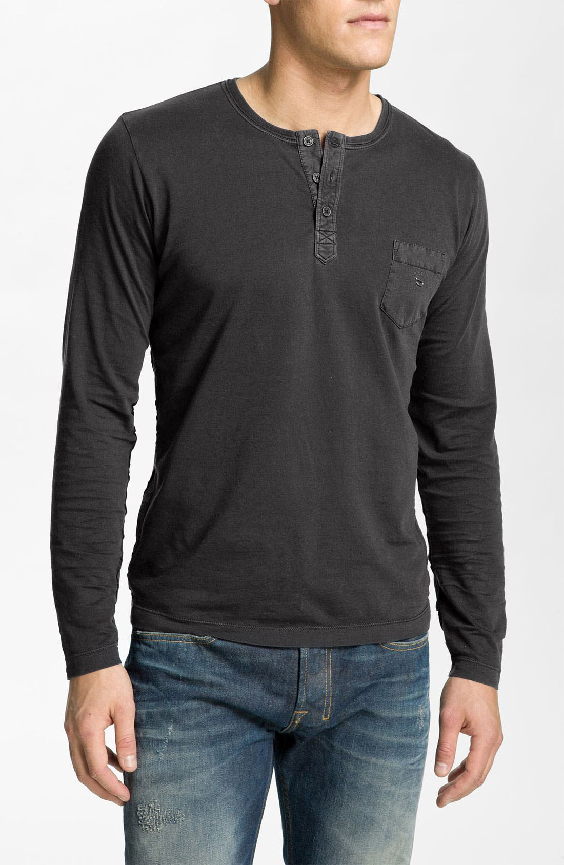 Main Image - DIESEL® 'Laio' Jersey Knit Henley