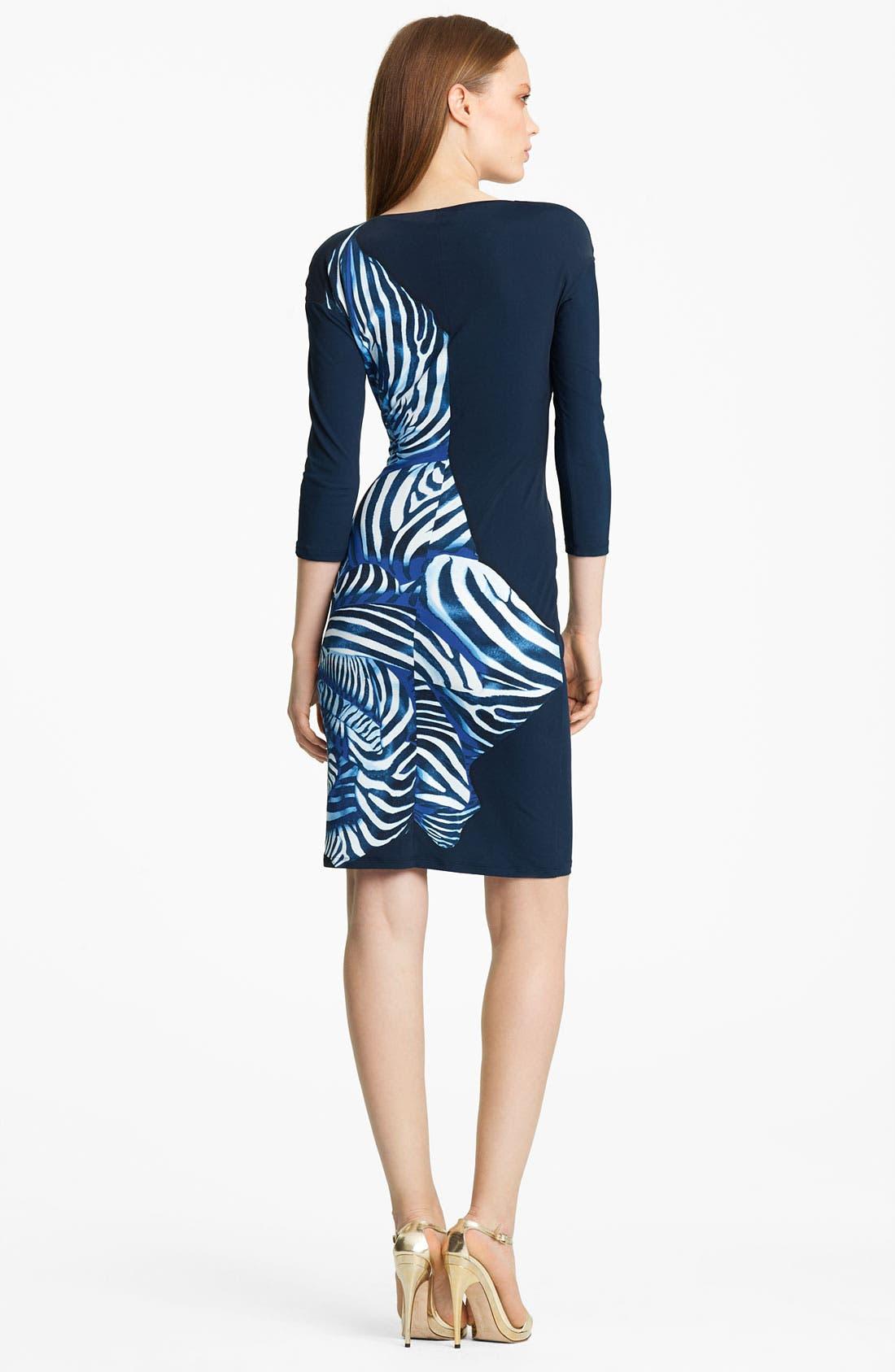 Alternate Image 2  - Roberto Cavalli Zebra Print Dress