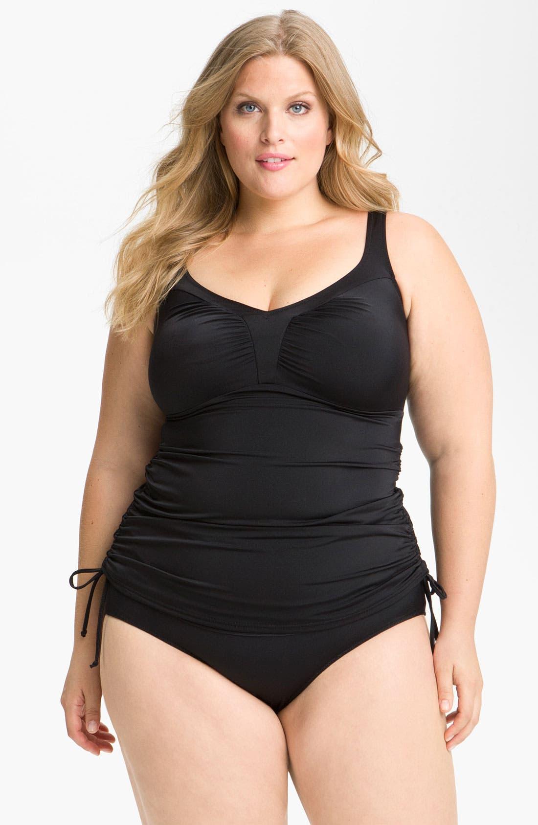 Alternate Image 3  - Elomi 'Isis' Layering Tankini Top (Plus Size)