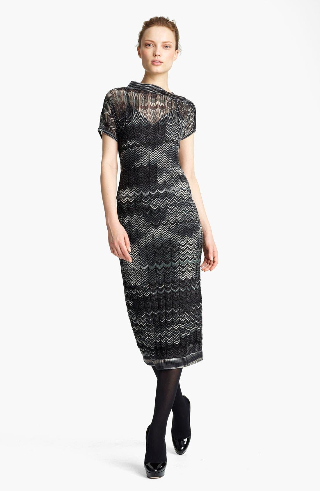 Alternate Image 1 Selected - Missoni Zigzag Knit Dress