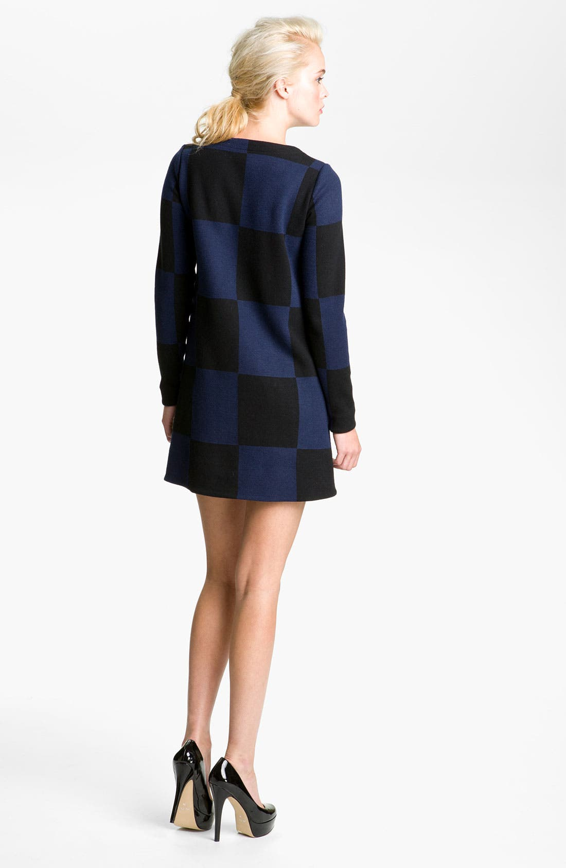 Alternate Image 2  - MARC BY MARC JACOBS Checkered Jacquard Mini Dress