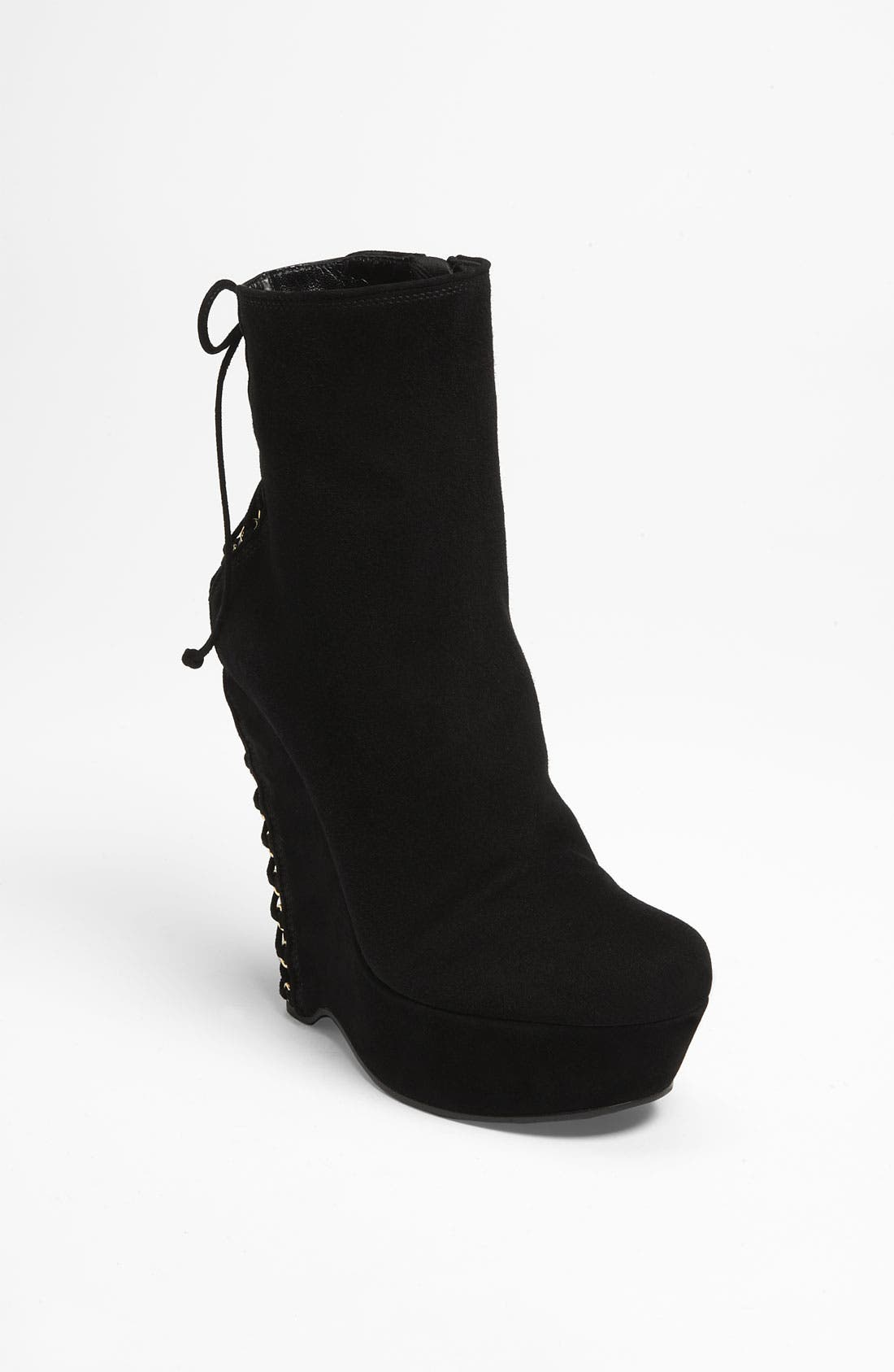 Yves Saint Laurent Corset Suede Boots in China sale online BECnzk