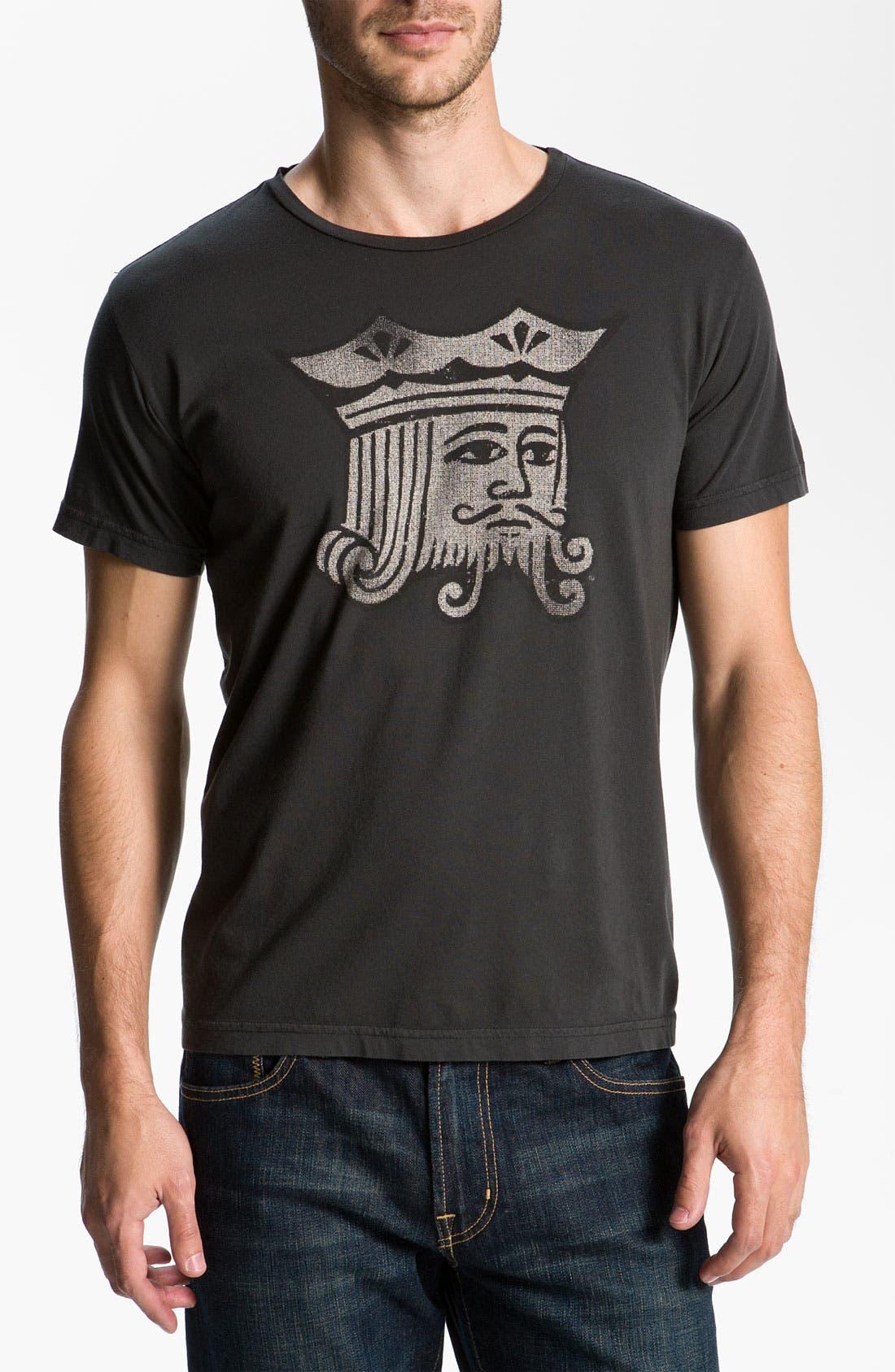 Alternate Image 1 Selected - Jacks & Jokers 'Kingshead' T-Shirt