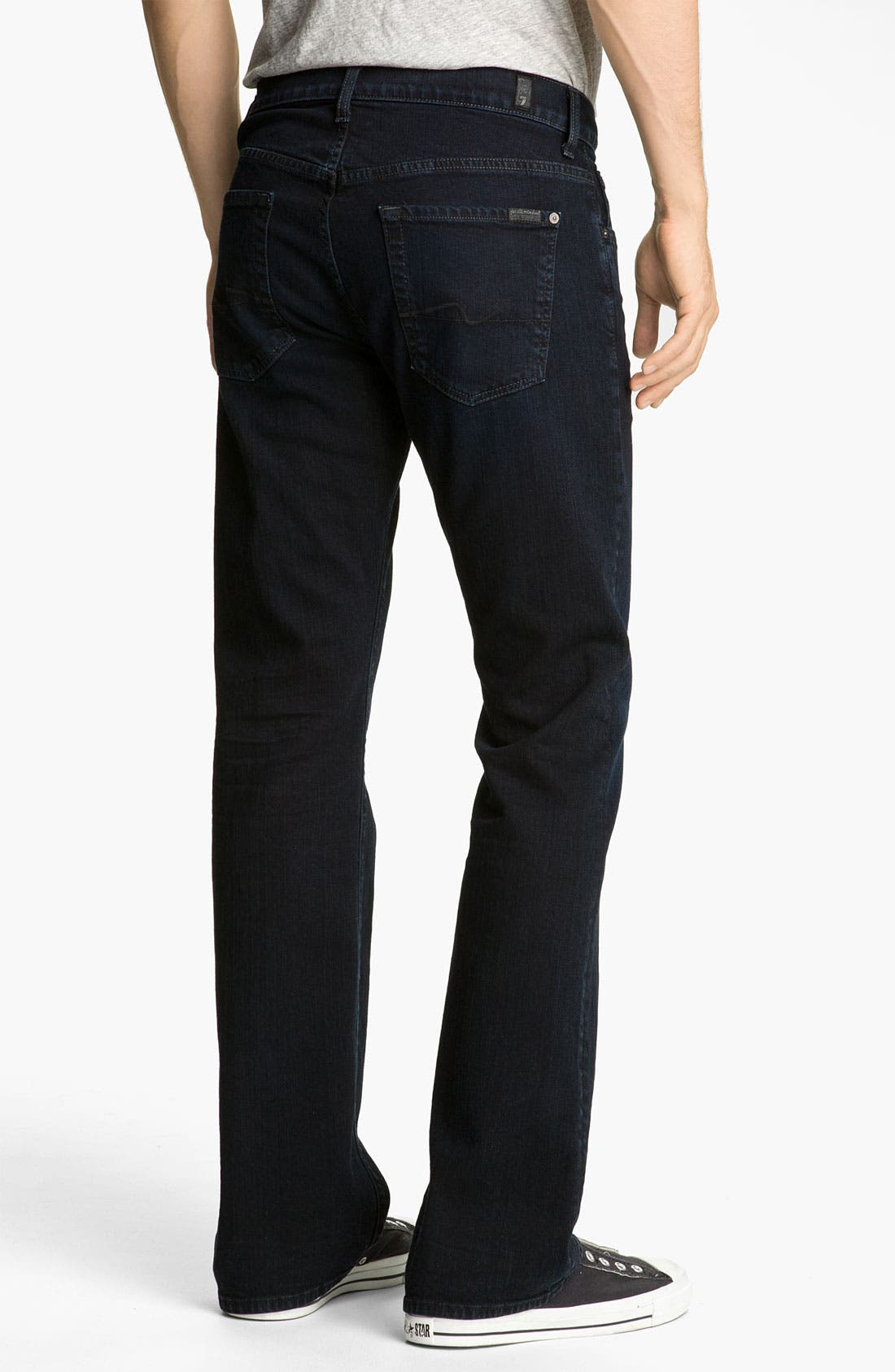 Alternate Image 1 Selected - 7 For All Mankind® 'Brett' Bootcut Jeans (Autumn Eclipse)
