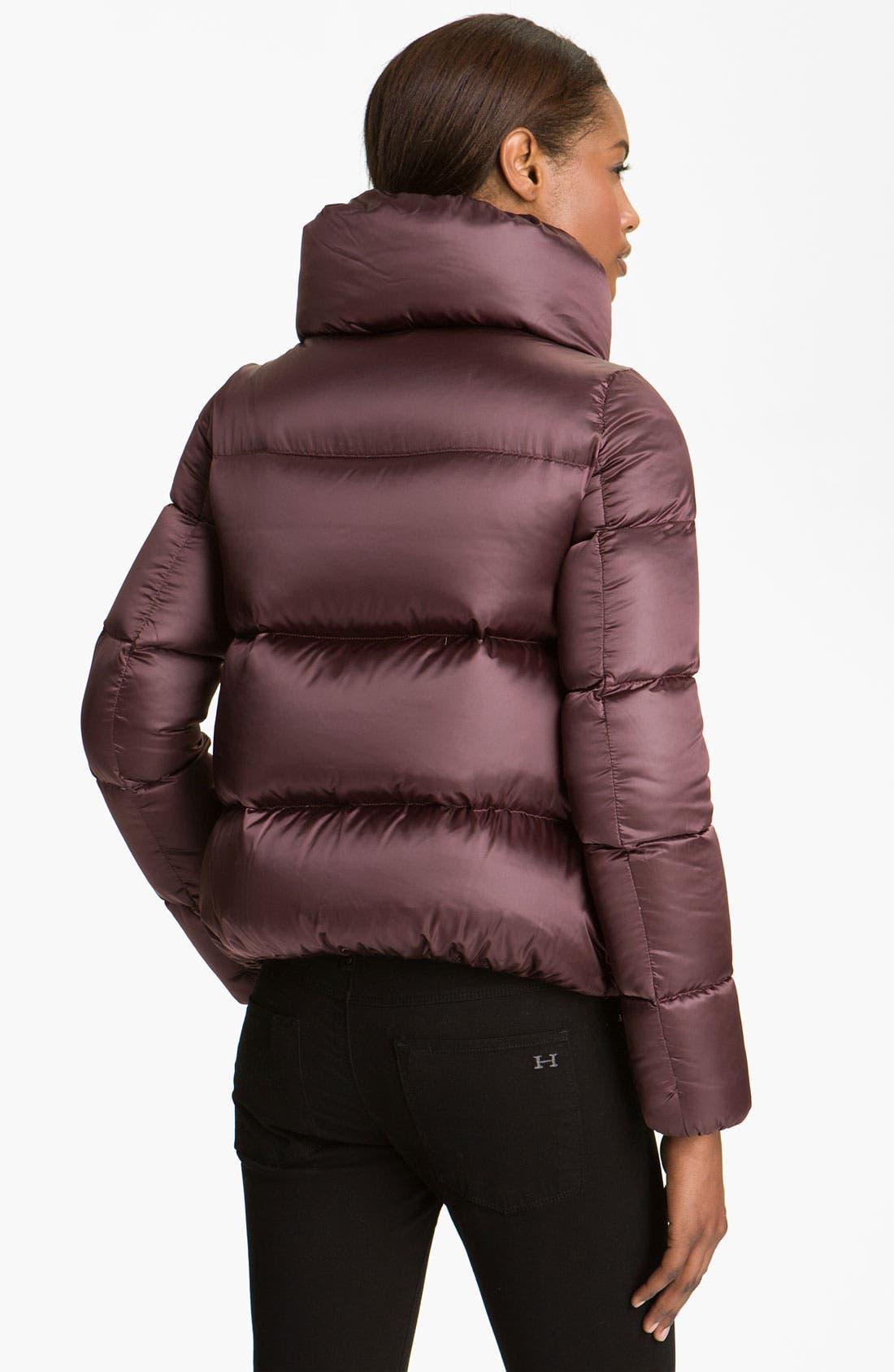 Alternate Image 2  - Moncler 'Erable' Pillow Collar Down Puffer Jacket